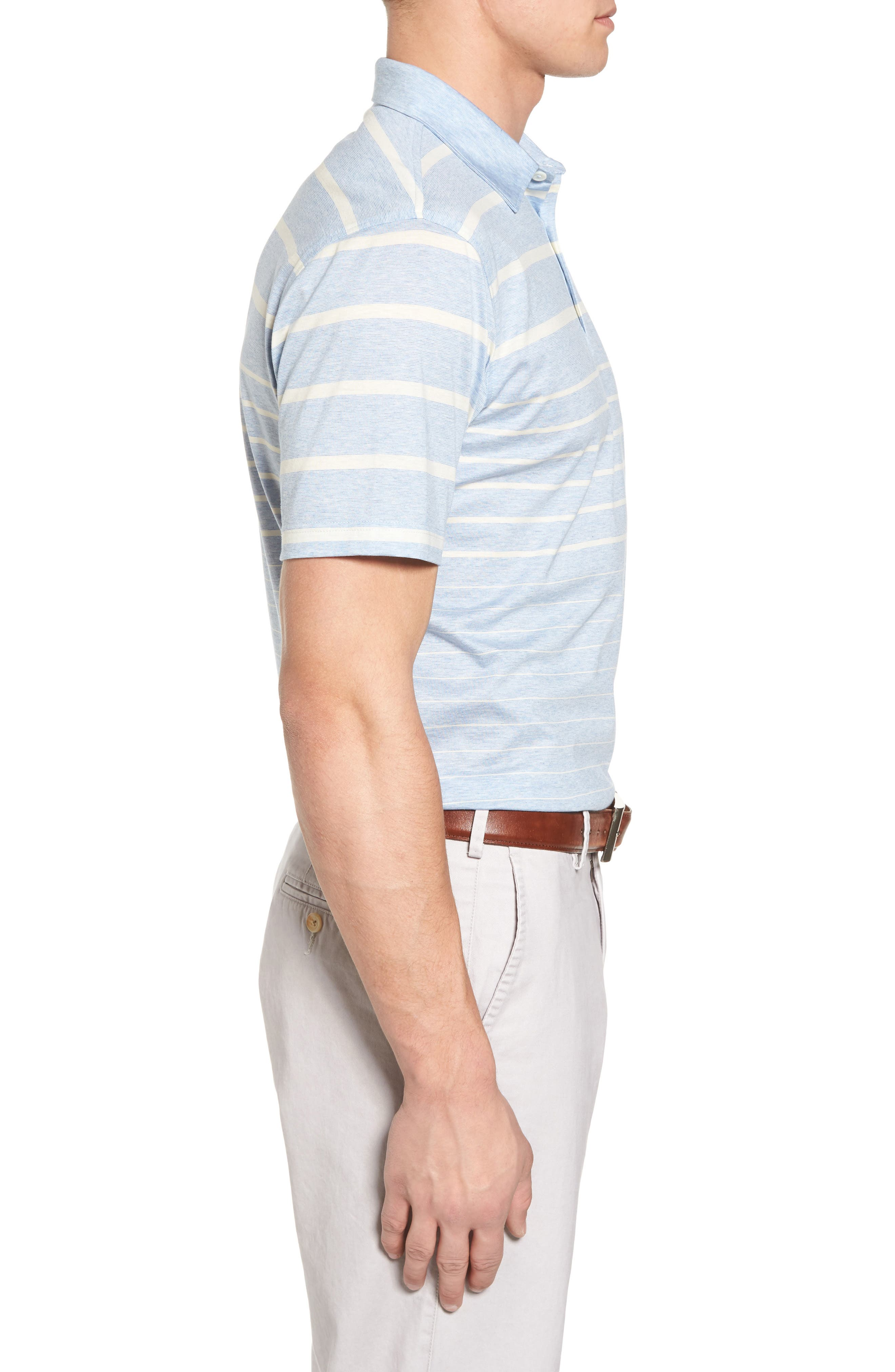 Alternate Image 3  - Peter Millar Collection Summer Swells Stripe Polo