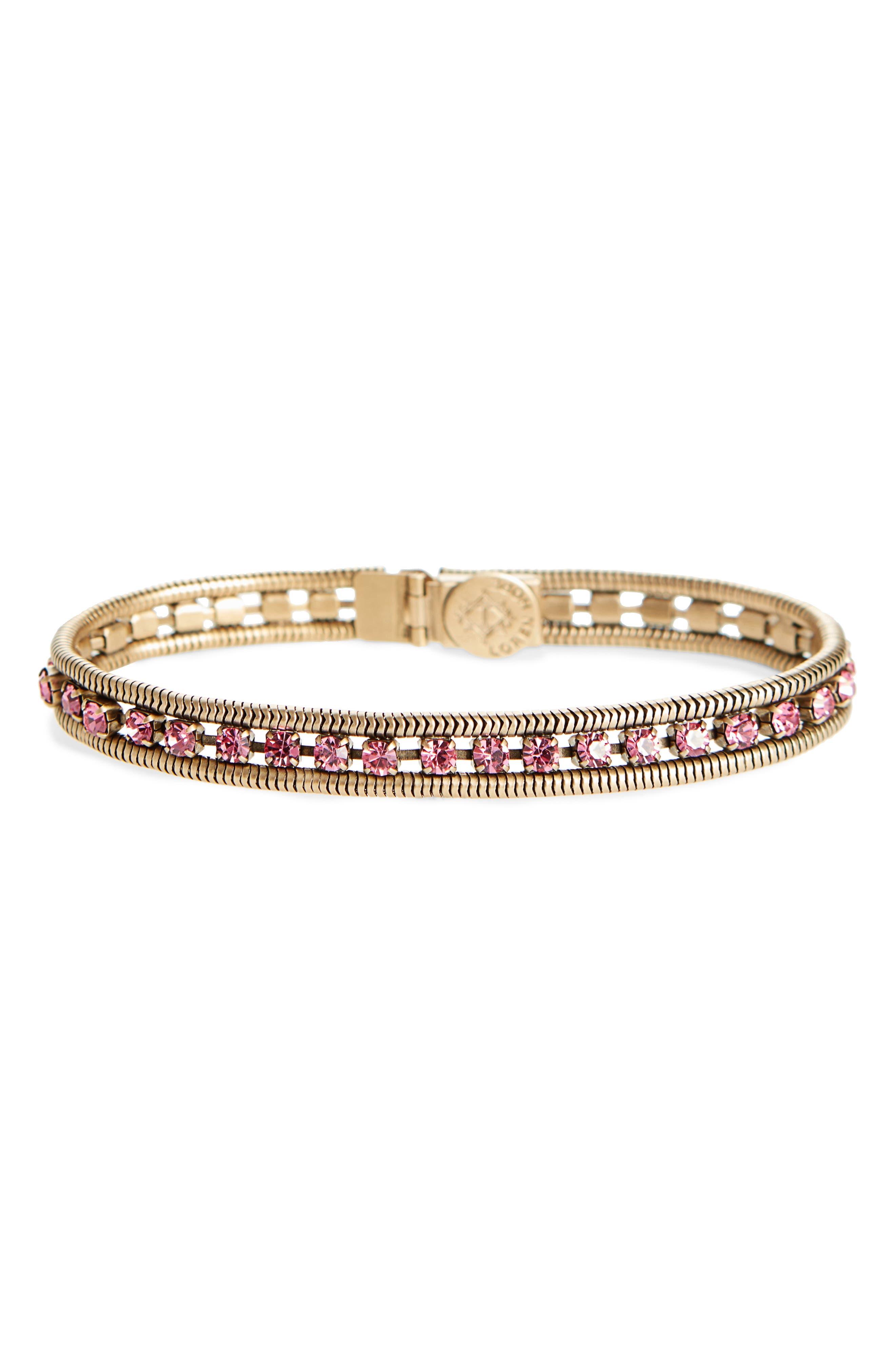 Alternate Image 1 Selected - Loren Hope 'Clara' Crystal Bracelet