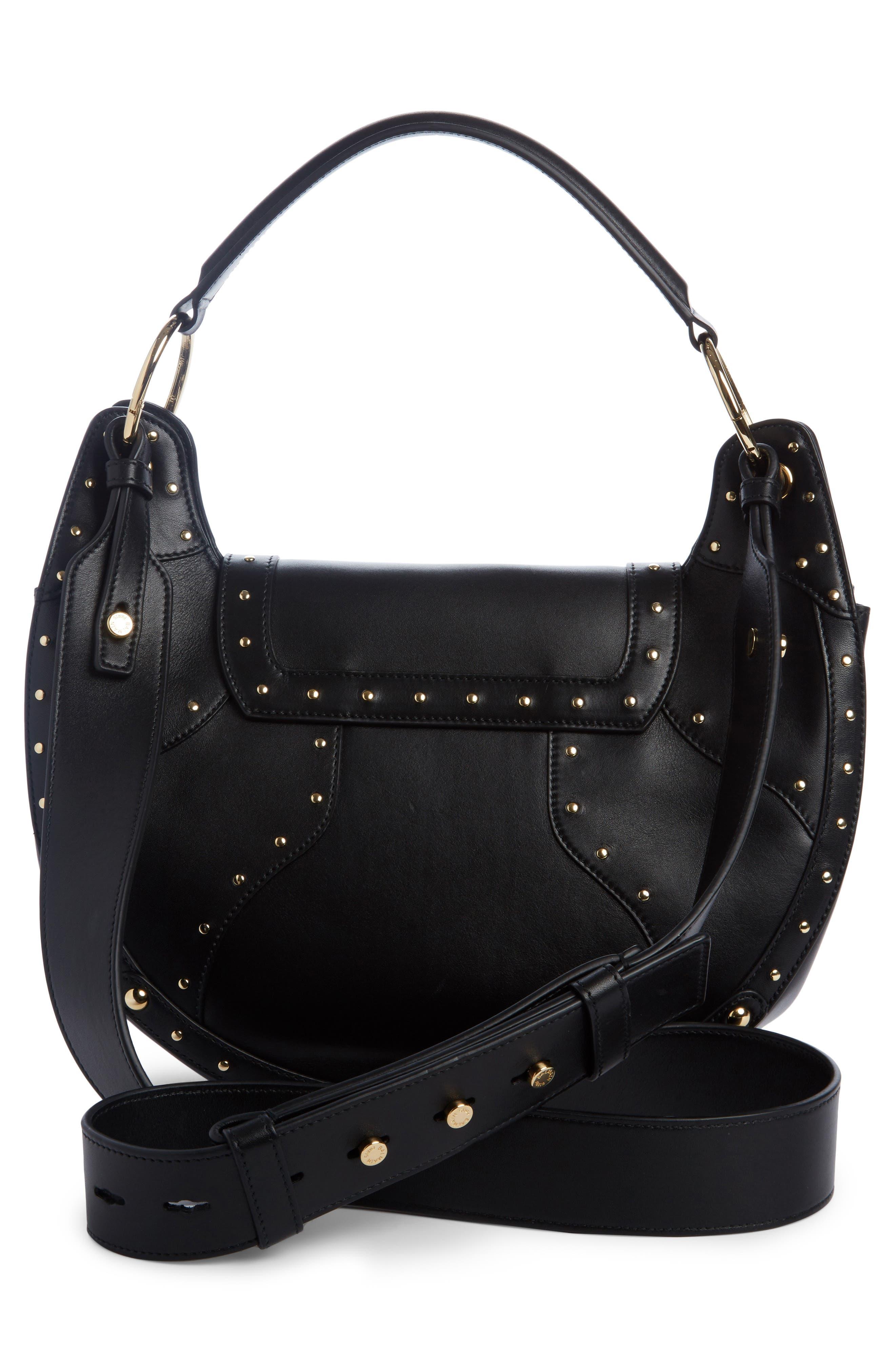 Alternate Image 2  - Balmain Domaine Full Moon Leather Shoulder Bag