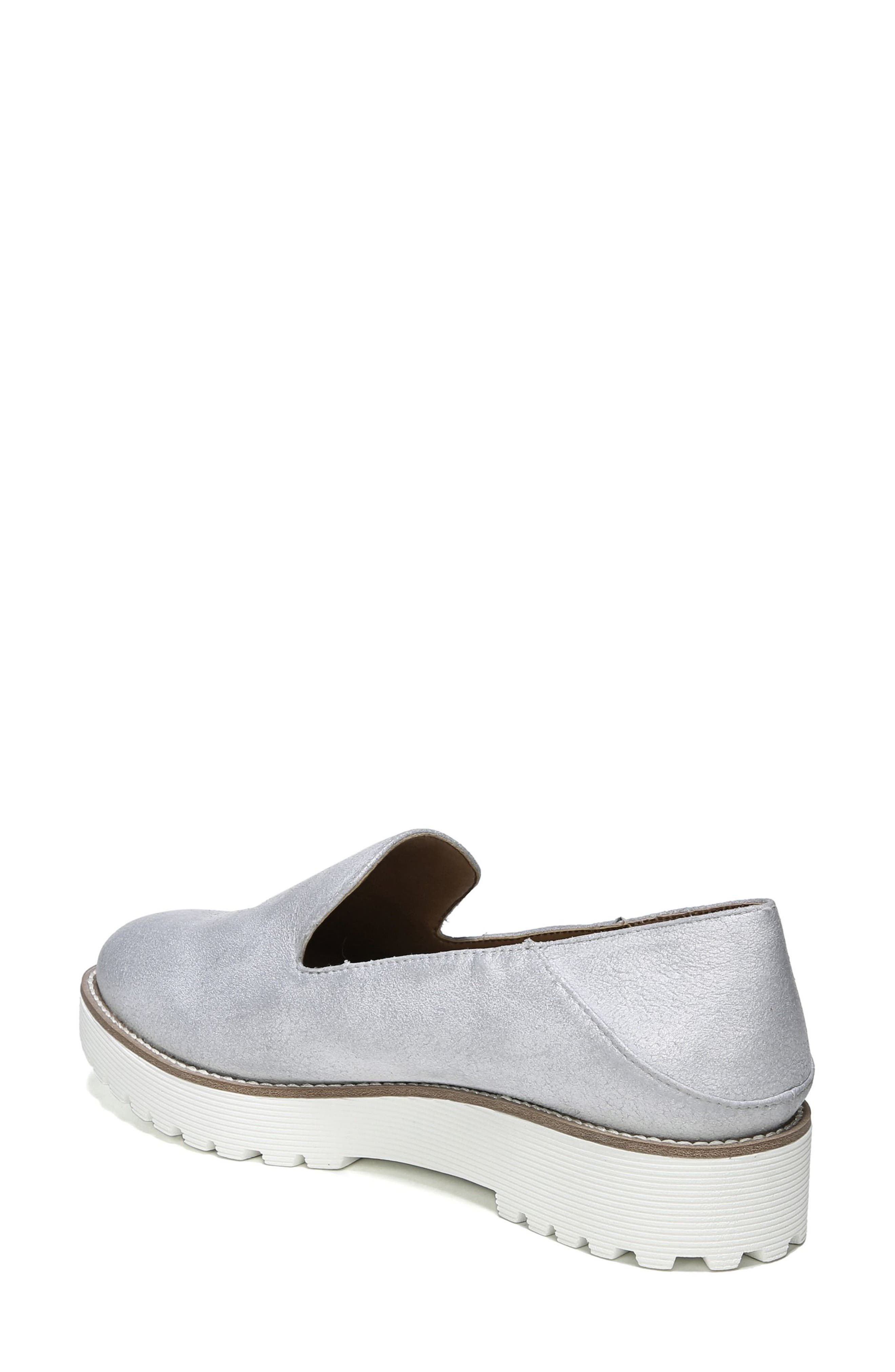 Jaxton Loafer,                             Alternate thumbnail 2, color,                             Artic Grey Suede