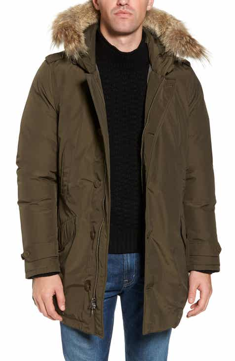 Woolrich John Rich   Bros. Polar Down Parka with Genuine Coyote Fur Trim 84464f3c99