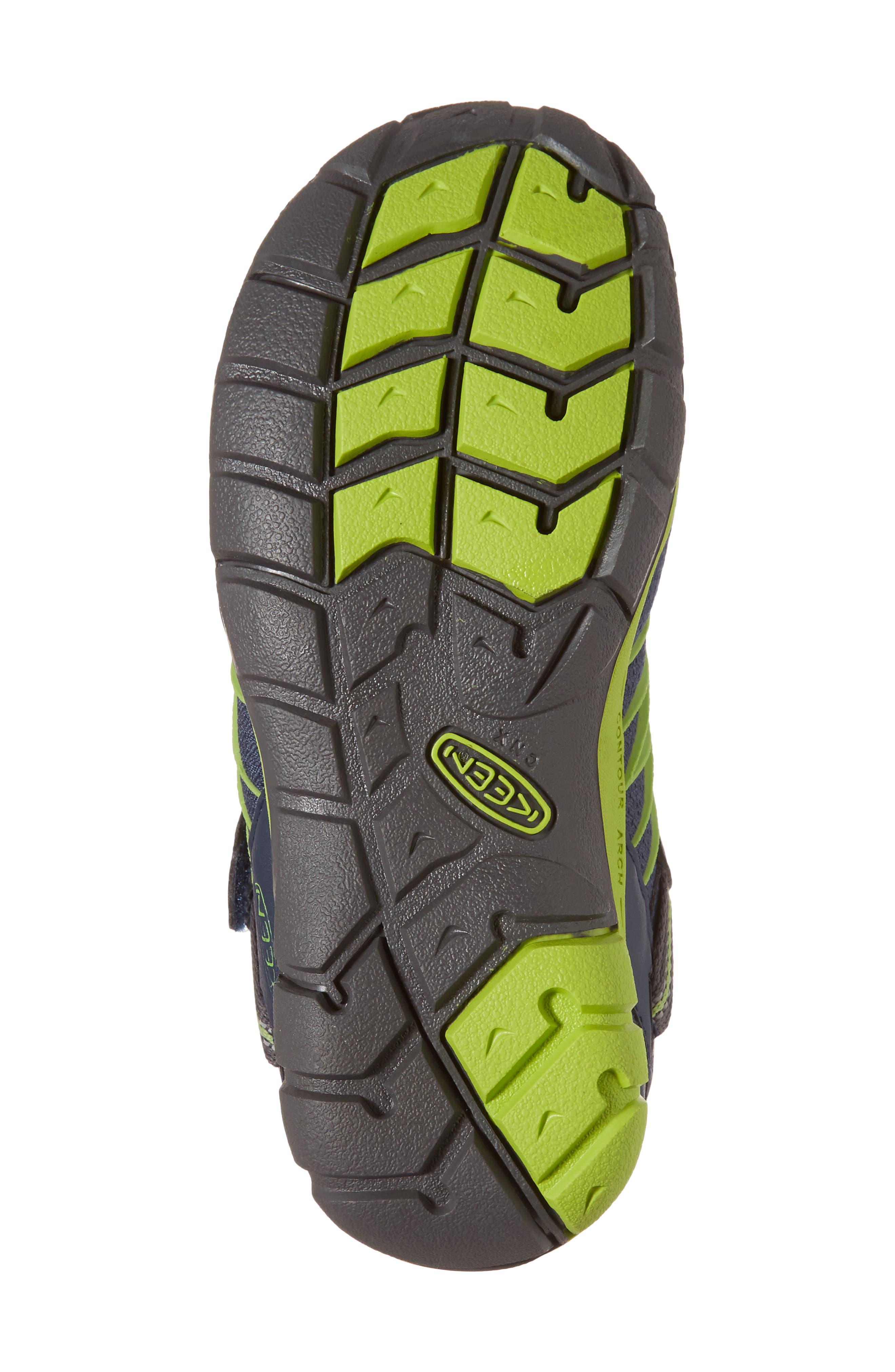 Chandler CNX Waterproof Sneaker,                             Alternate thumbnail 6, color,                             Dress Blues/ Greenery