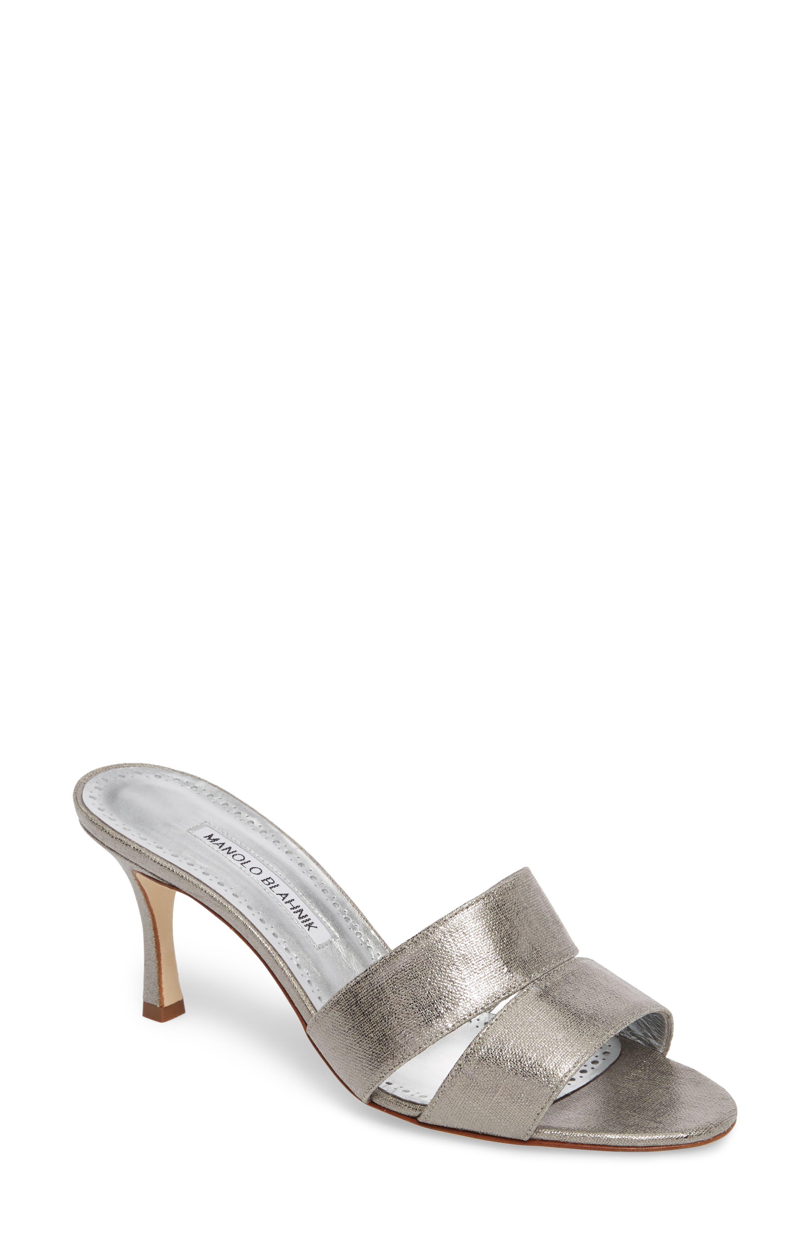 Manolo Blahnik Iacopo Mule Sandal (Women)