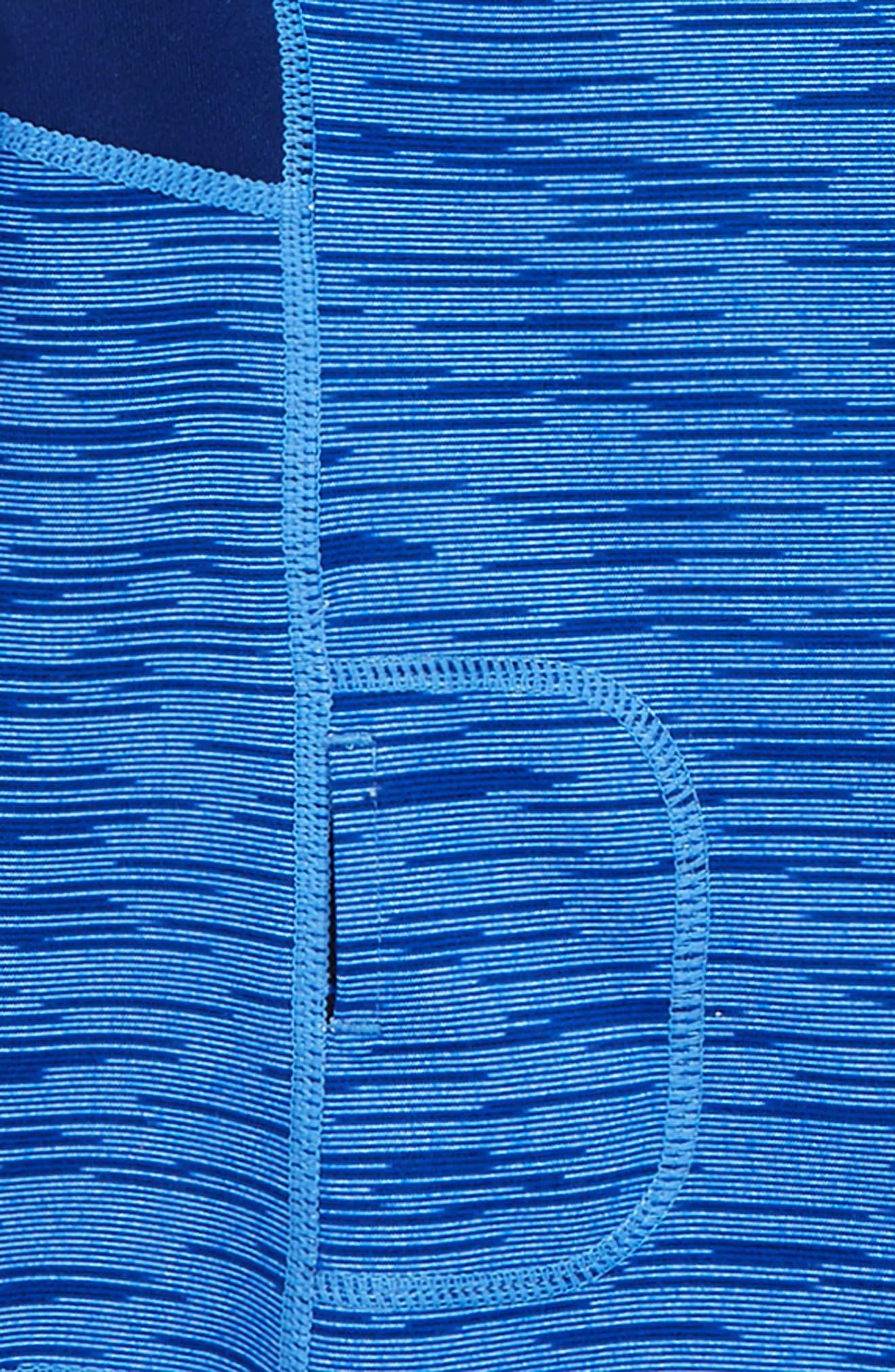 Base Camp Quarter Zip Pullover,                             Alternate thumbnail 2, color,                             Blue Vivid Sonic Spacedye