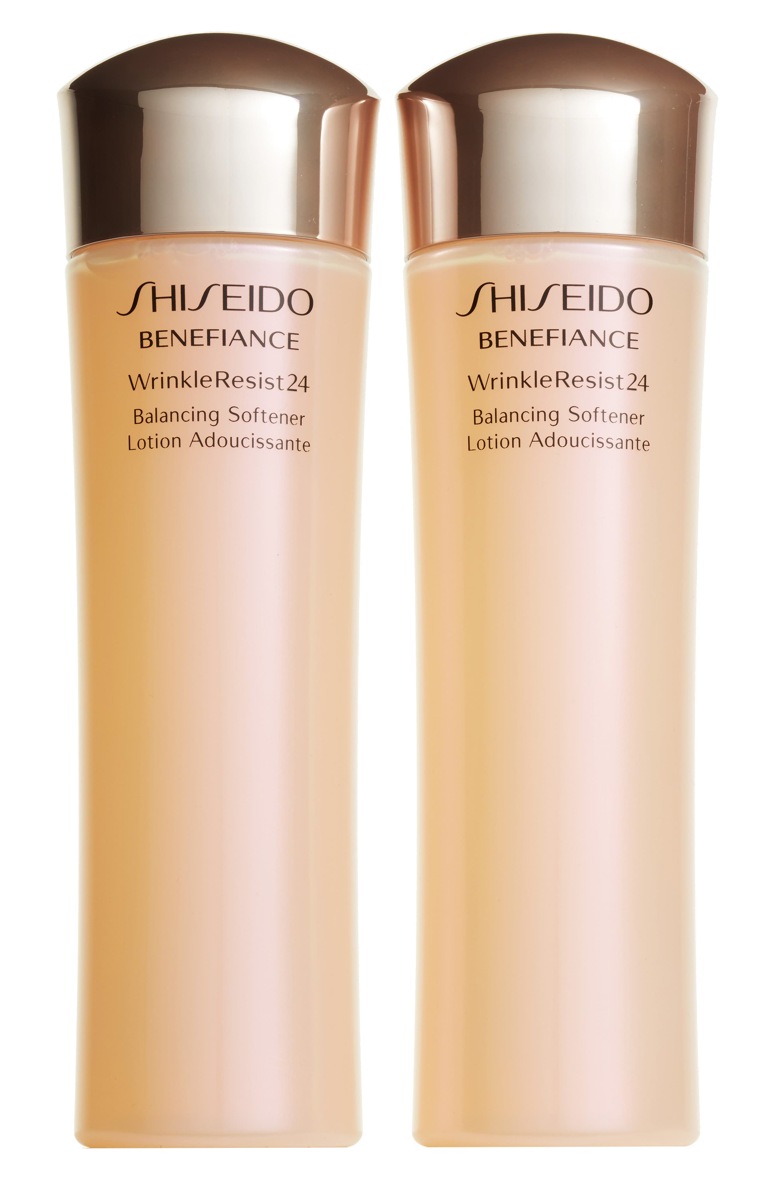 Main Image - Shiseido Benefiance WrinkleResist24 Balancing Softener Duo ($146 Value)