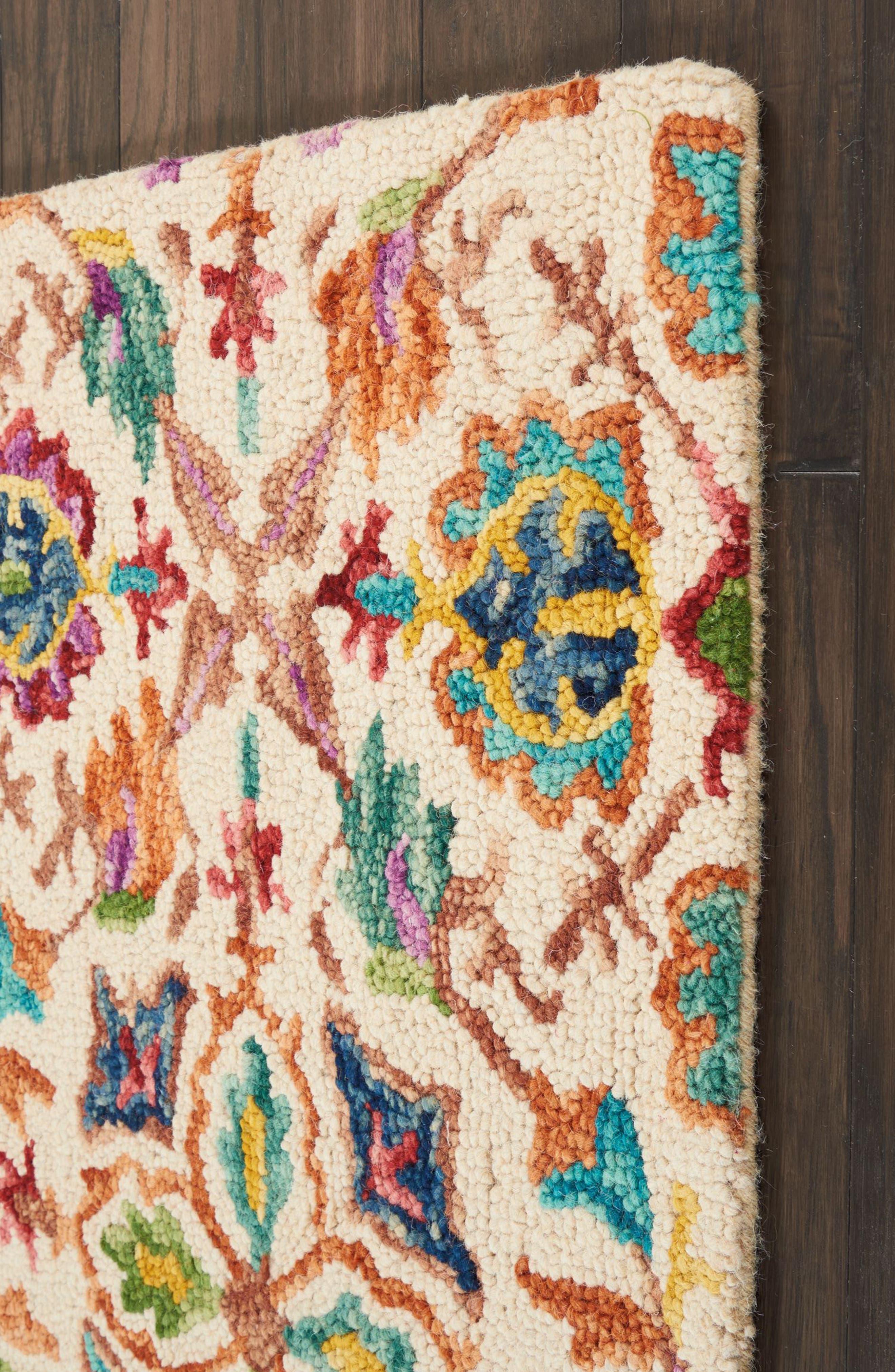 Alternate Image 2  - Nourison Vivid Wool Rug