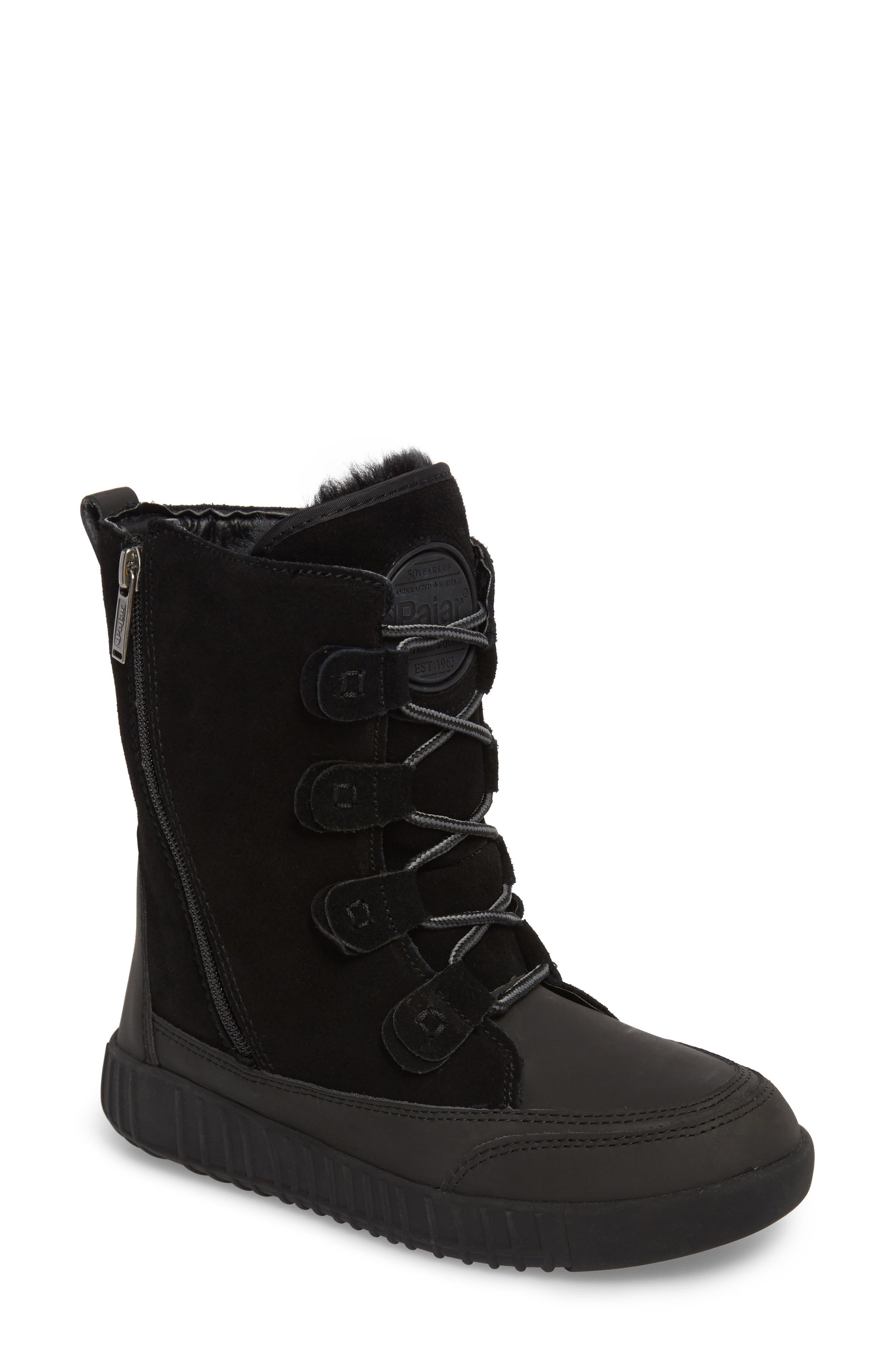 Pamina Insulated Waterproof Boot,                             Main thumbnail 1, color,                             Black