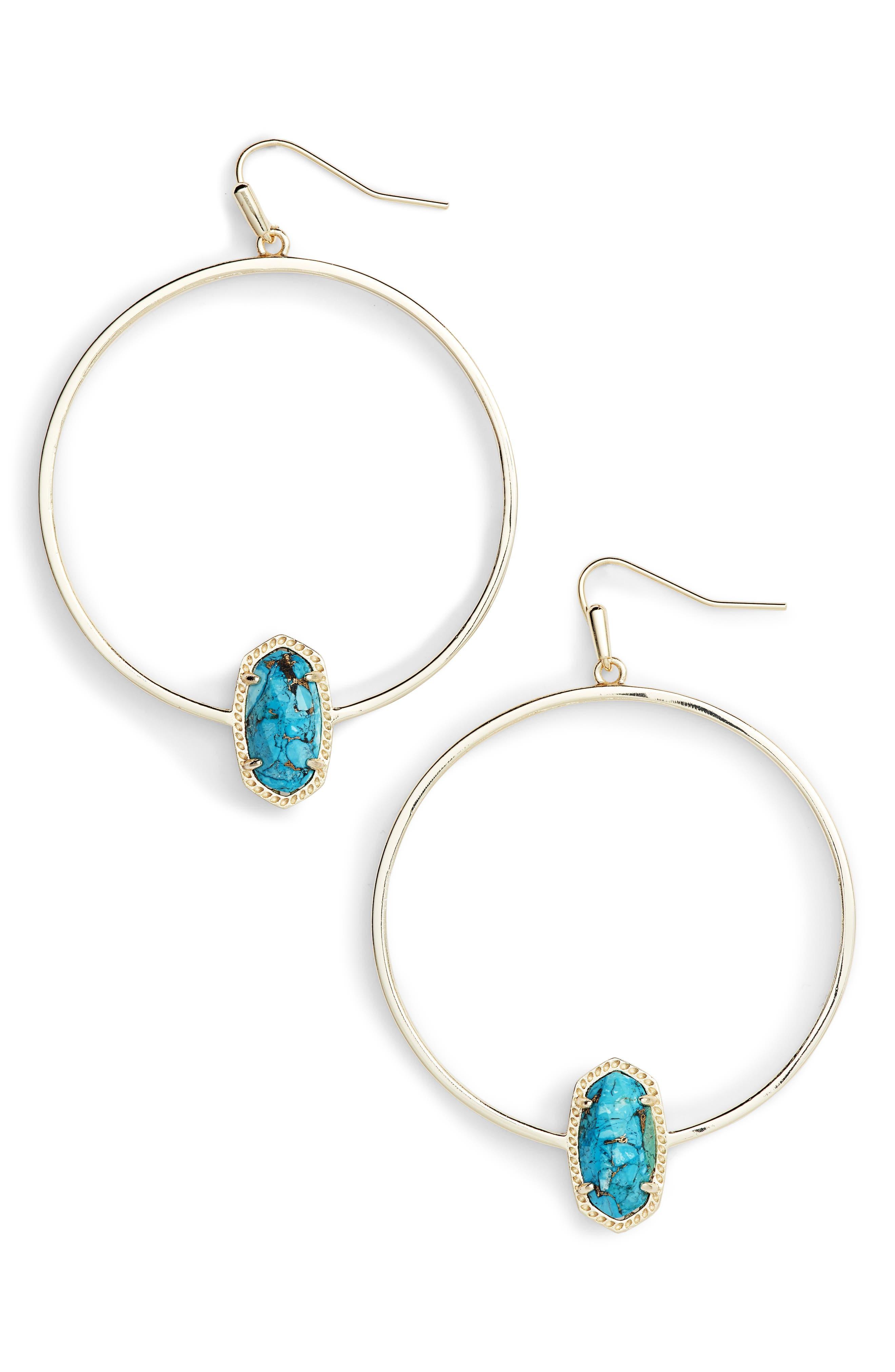 Kendra Scott Elora Frontal Hoop Earrings