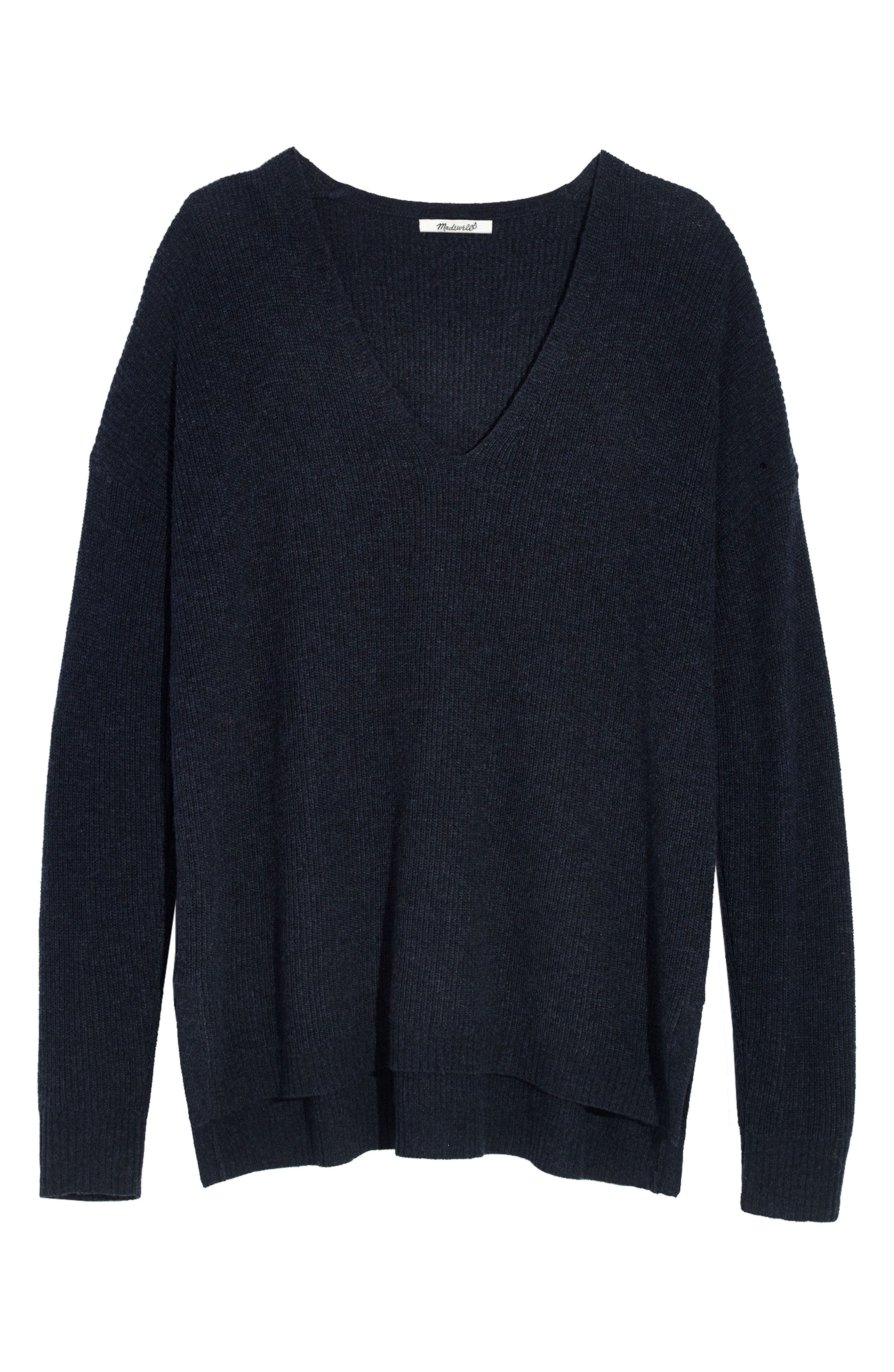 Alternate Image 1 Selected - Madewell Warmlight V-Neck Sweater