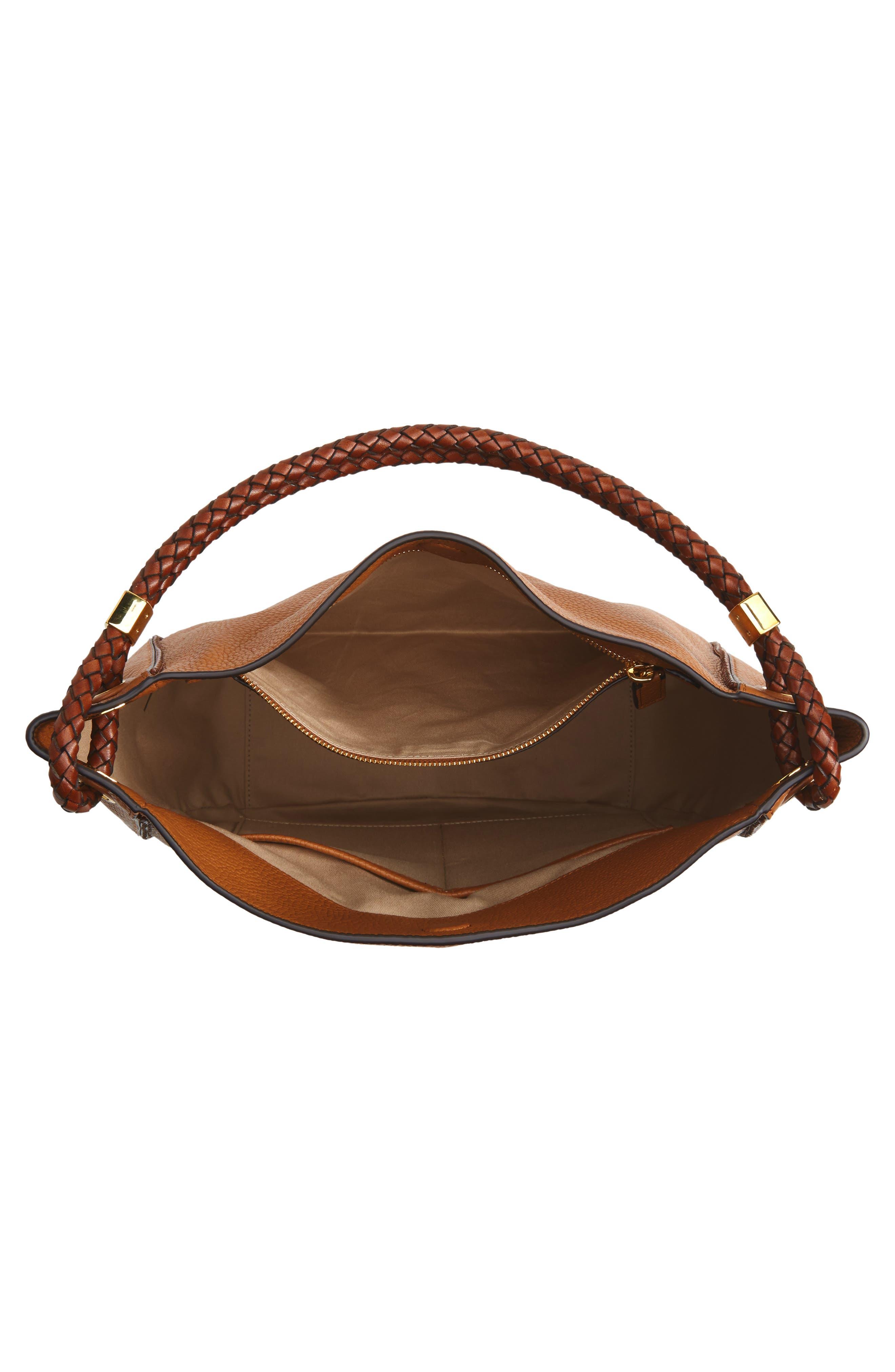 Alternate Image 4  - Michael Kors Skorpios Leather Hobo