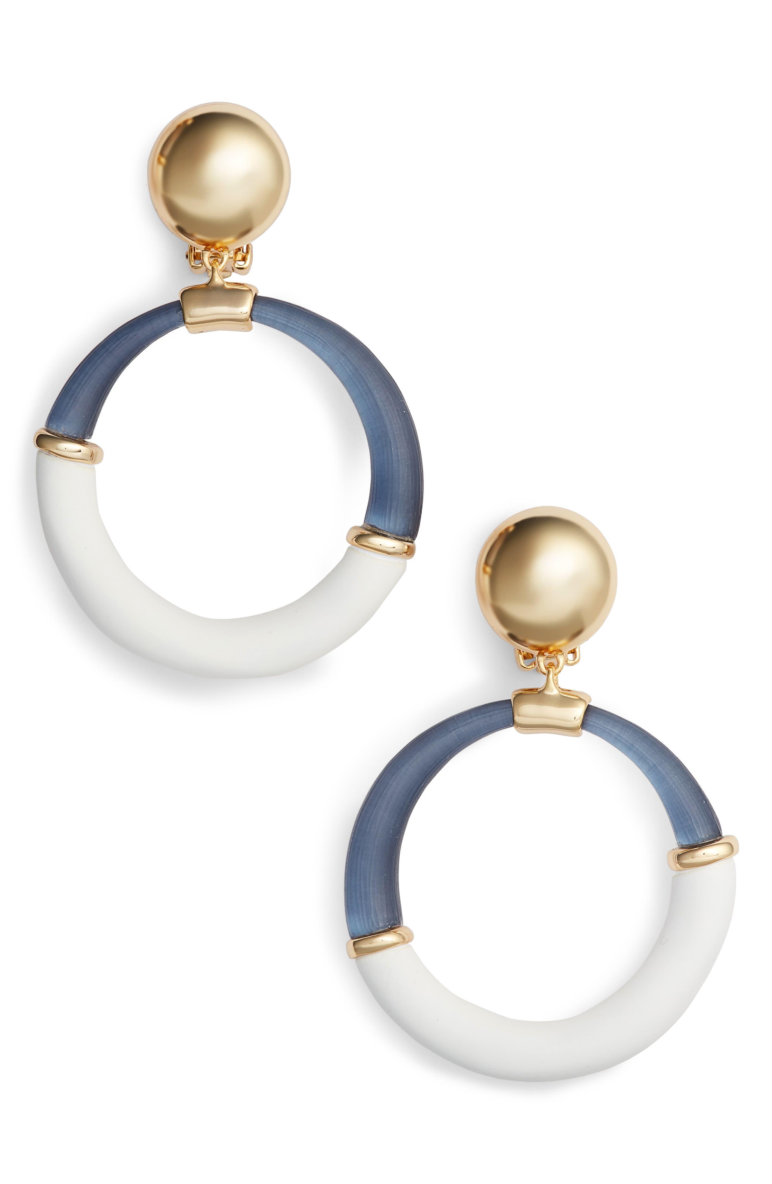 Main Image - Alexis Bittar Split Hoop Drop Earrings