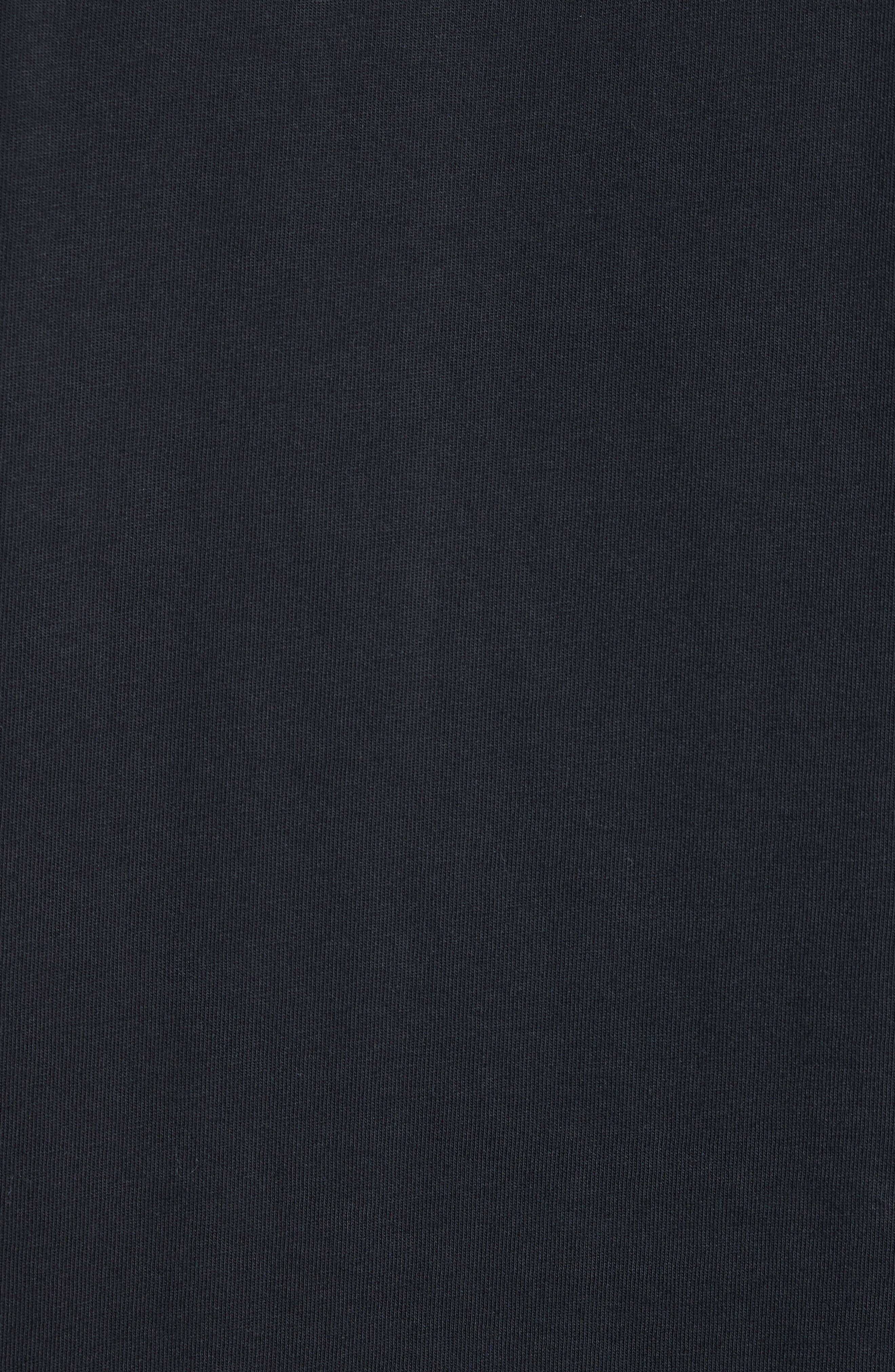 Japan Graphic T-Shirt,                             Alternate thumbnail 5, color,                             Black