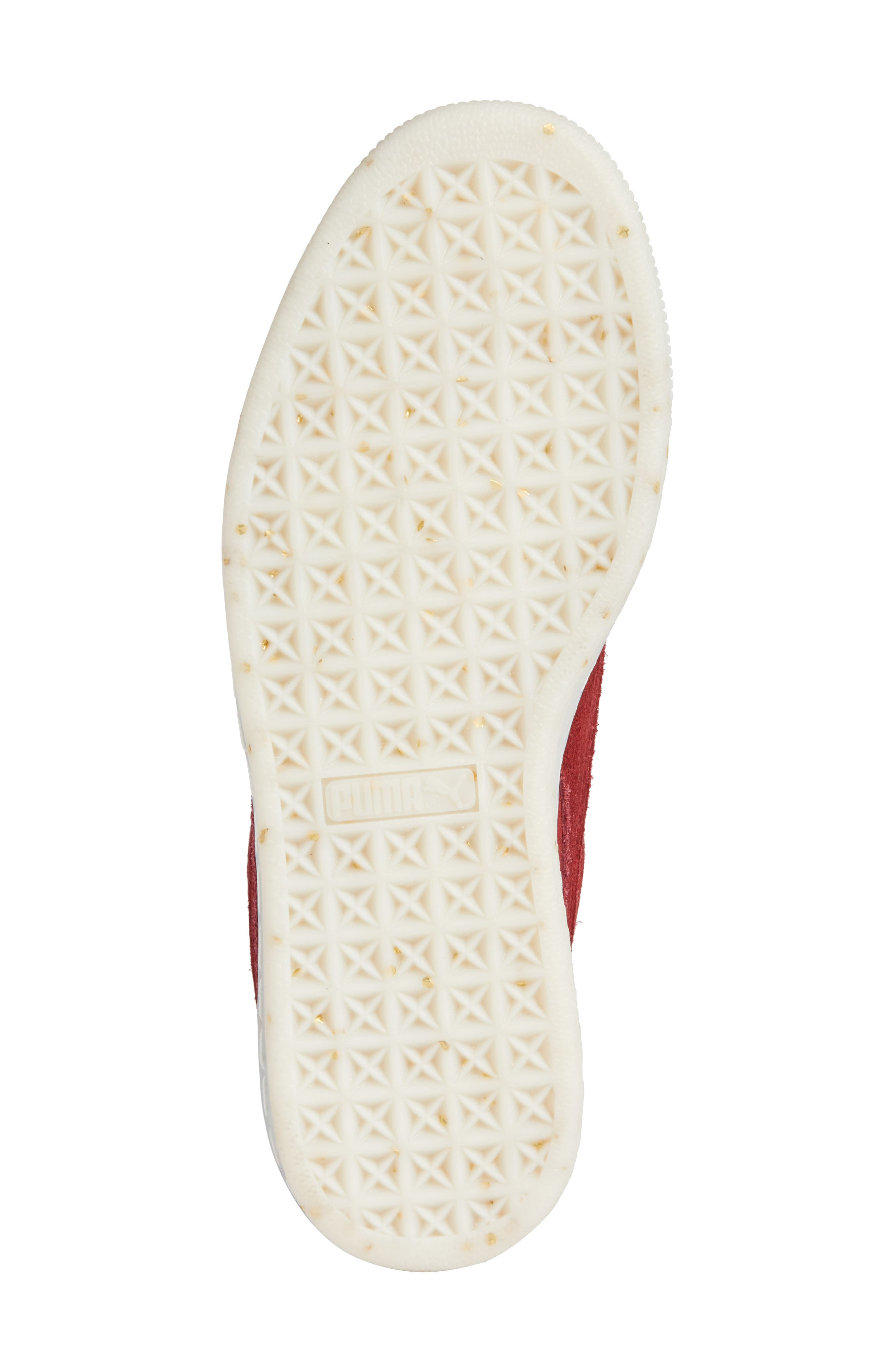 Alternate Image 6  - PUMA Suede - Heart Sneaker (Women)