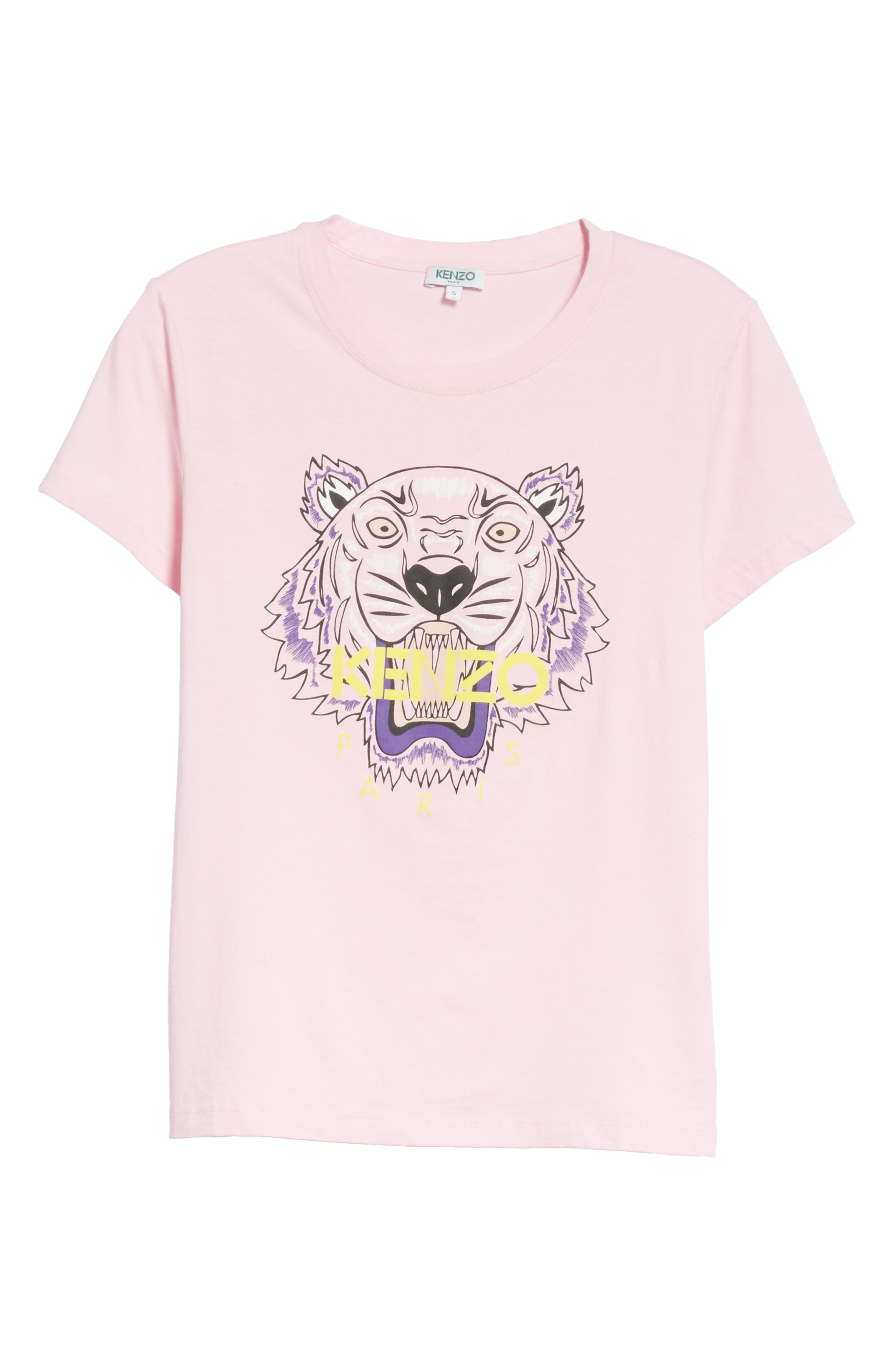 Classic Tiger Graphic Tee,                             Main thumbnail 1, color,                             Flamingo Pink