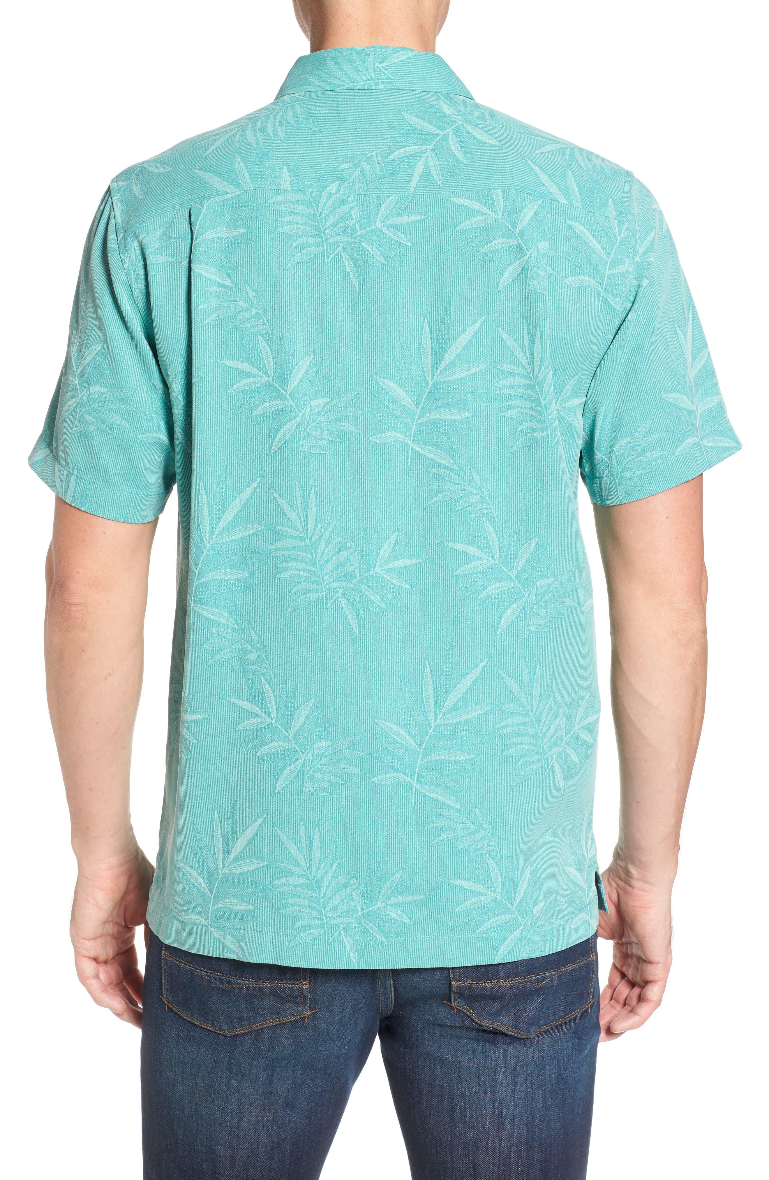 Alternate Image 2  - Tommy Bahama Luau Floral Silk Shirt