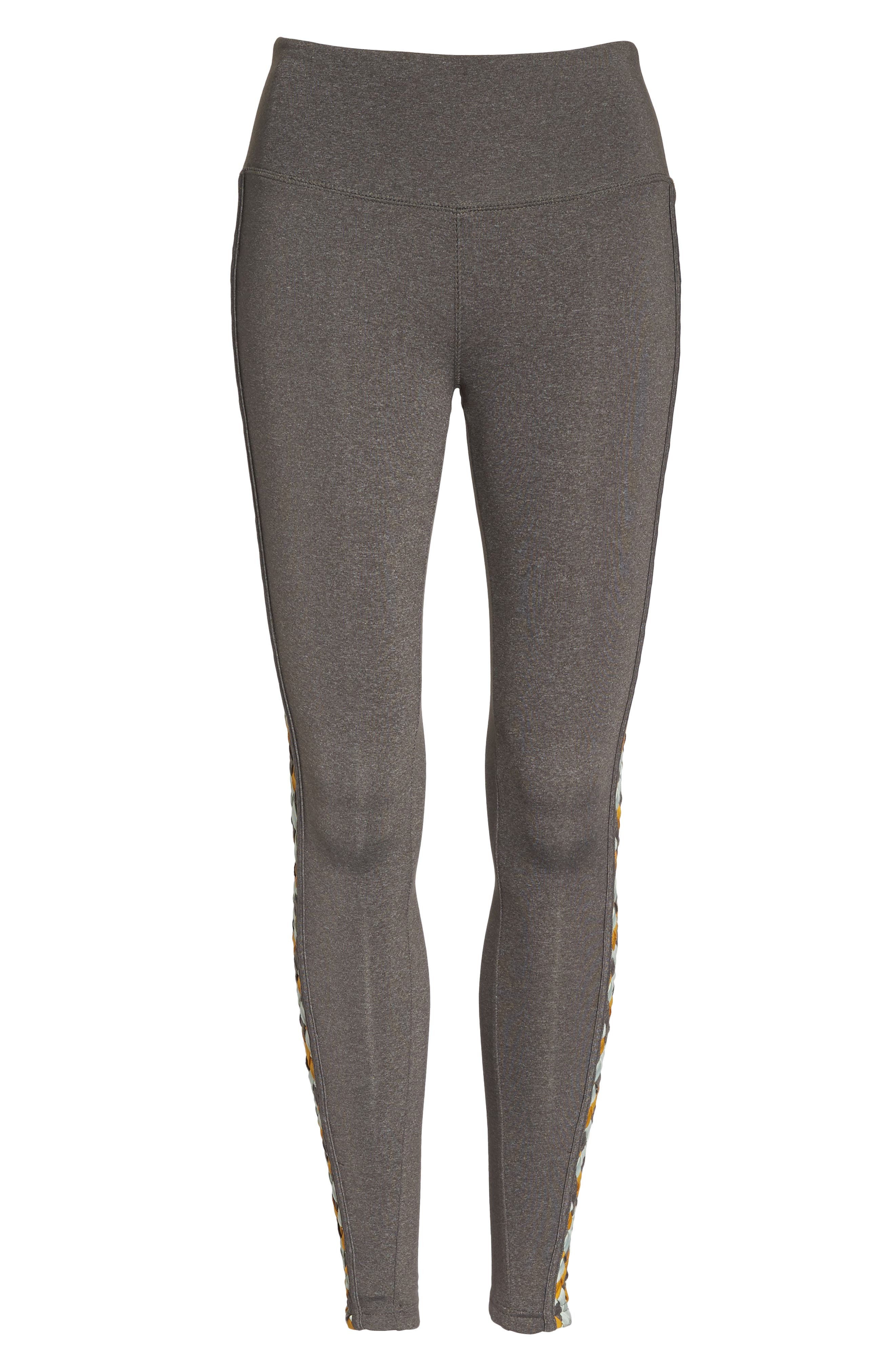 Free People Vision Leggings,                             Alternate thumbnail 7, color,                             Light Grey