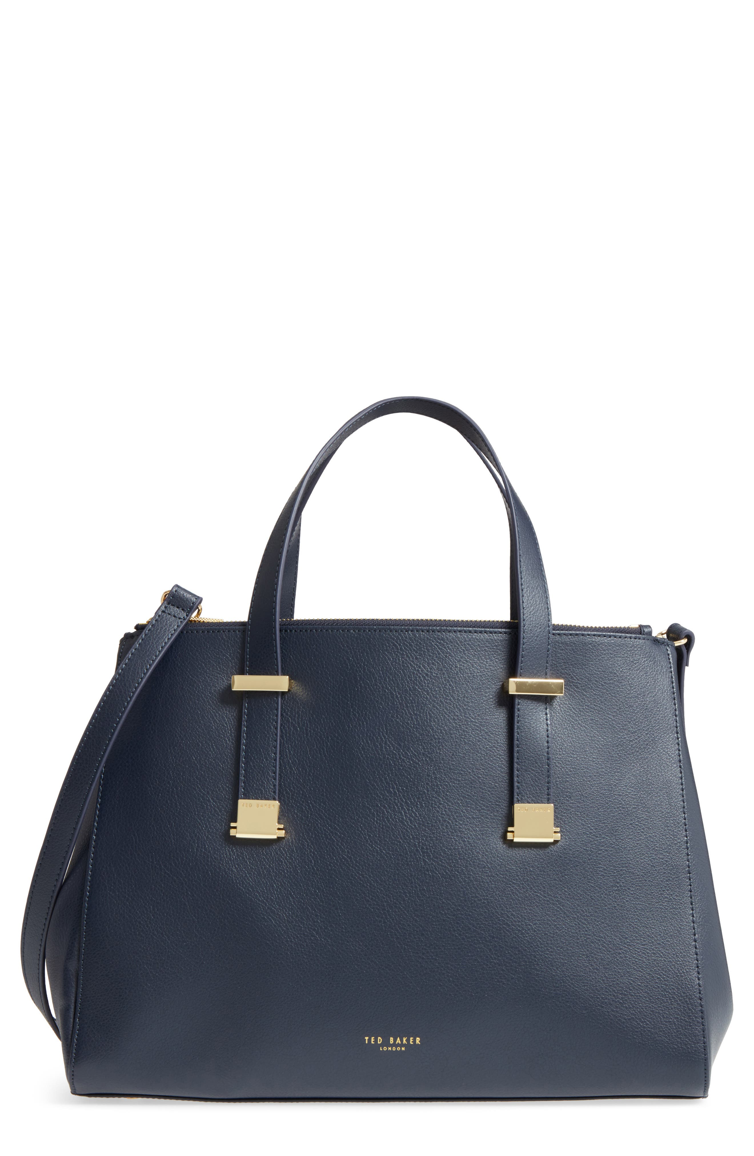 Main Image - Ted Baker London Large Alunaa Convertible Leather Tote