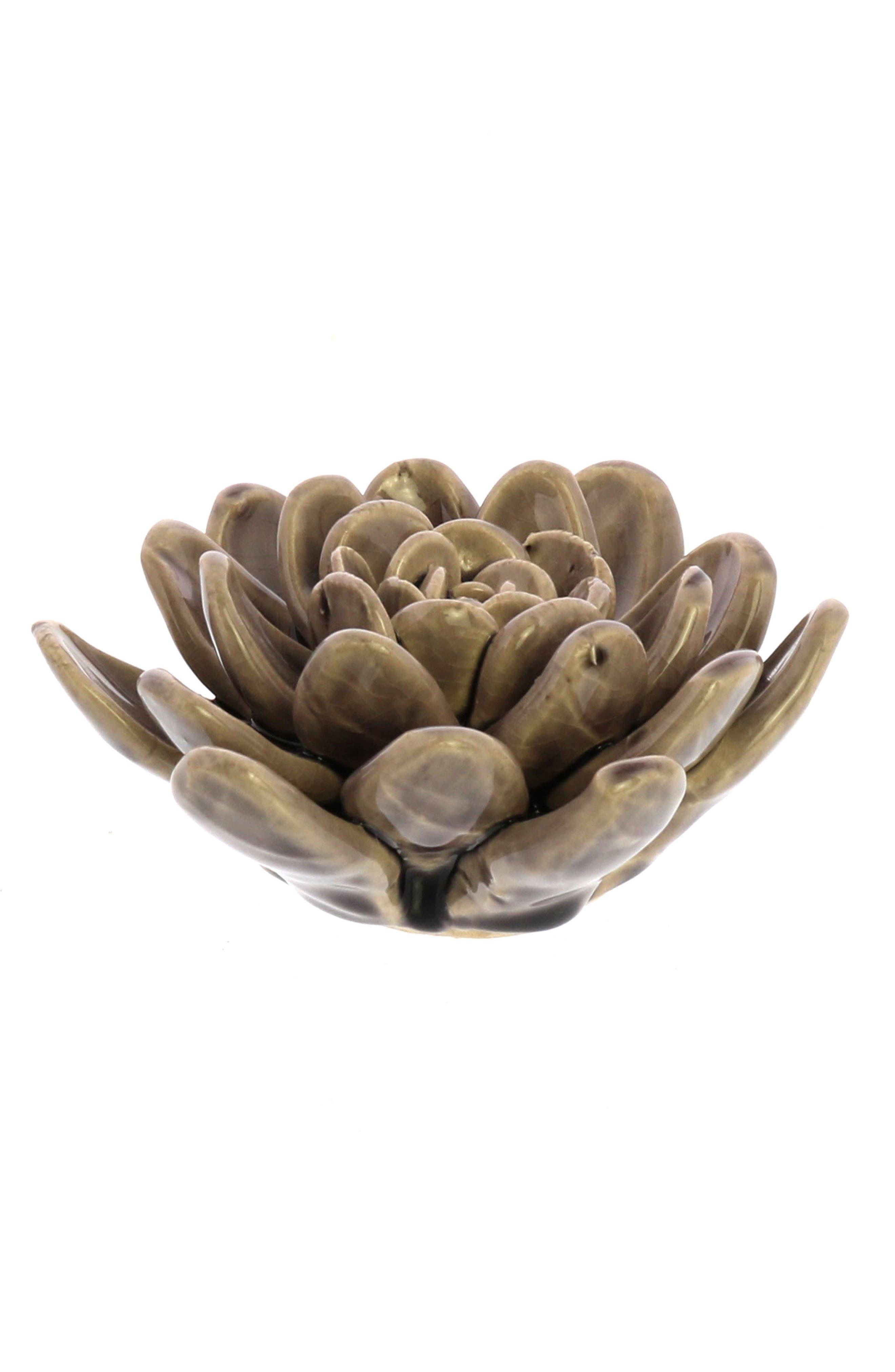 Ceramic Succulent,                         Main,                         color, Lilac
