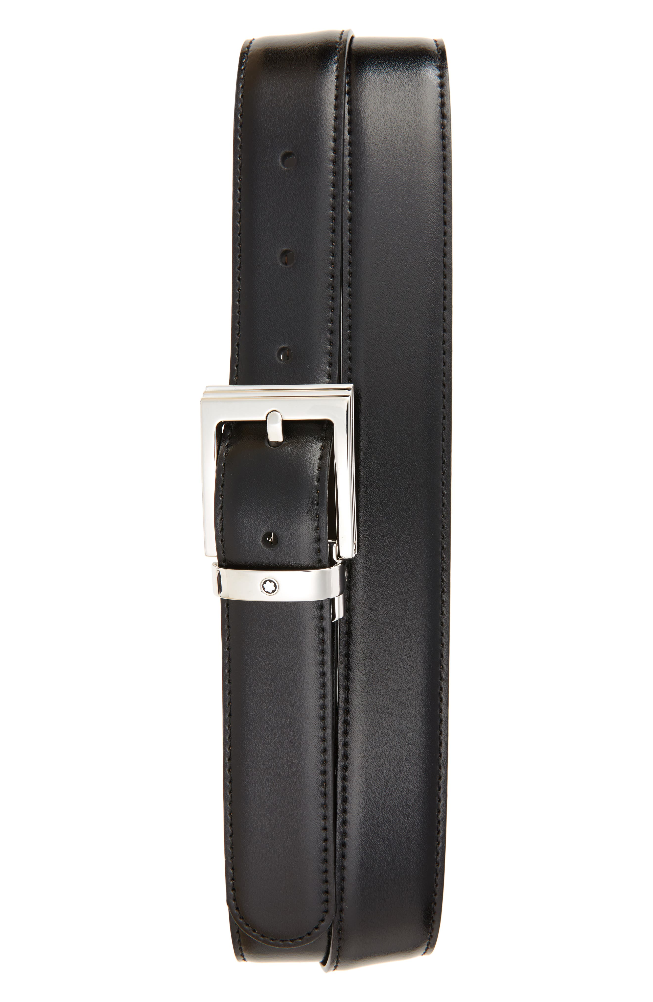 Montblanc Reversible Leather Belt