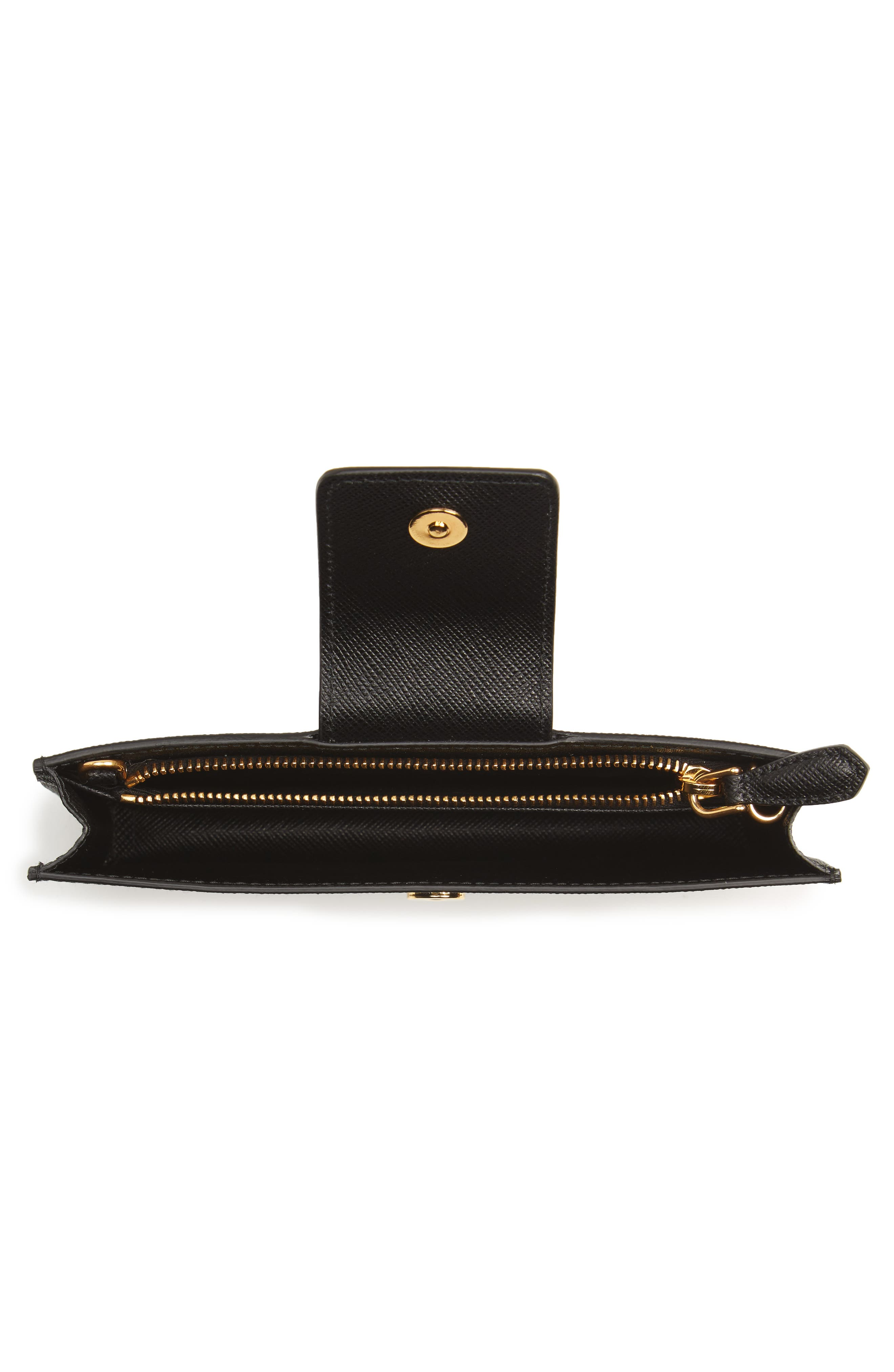 Alternate Image 2  - Prada Saffiano Leather Phone Wallet on a Chain