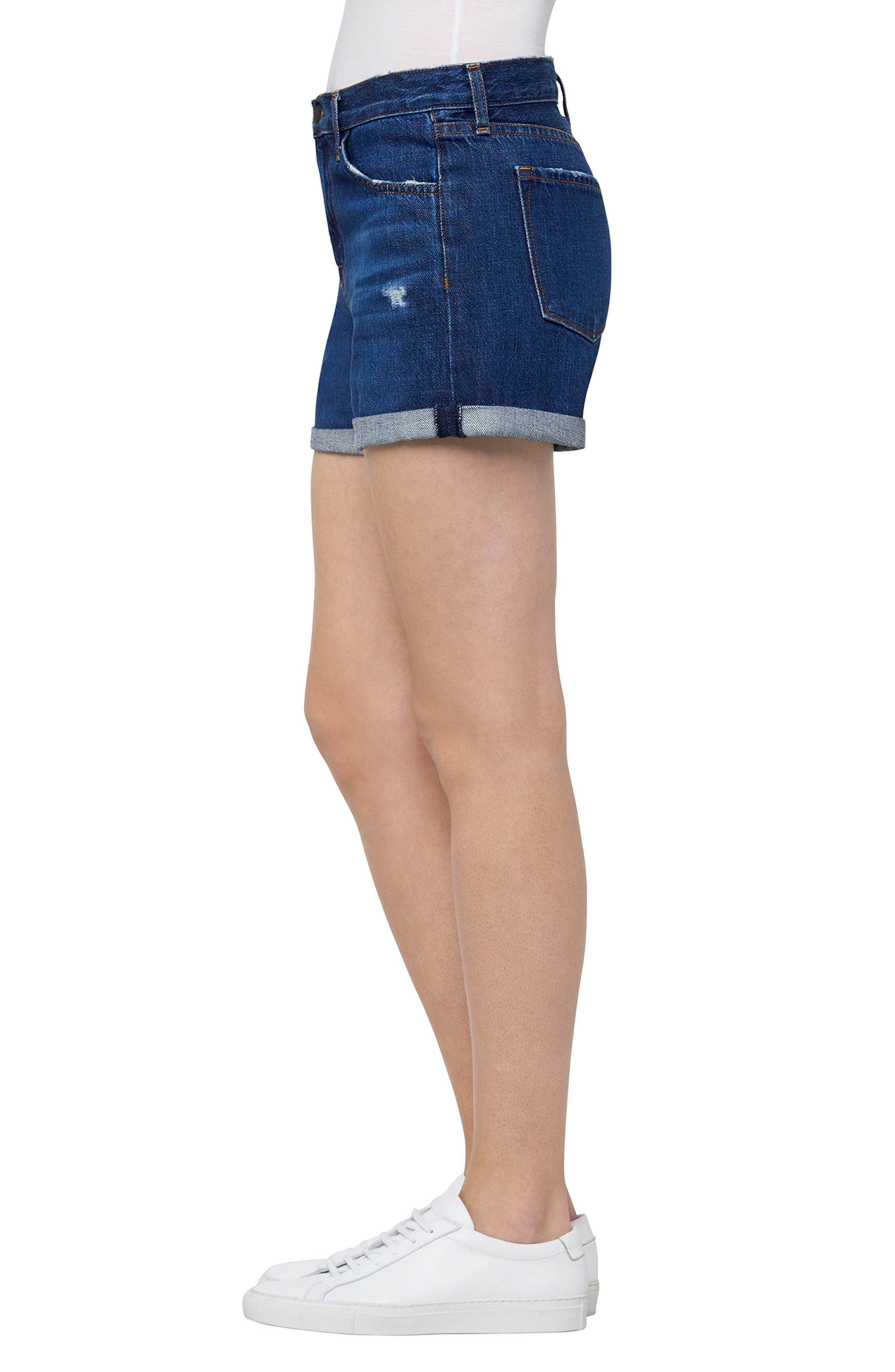 Alternate Image 3  - J Brand Johnny Denim Shorts (Doubletake)