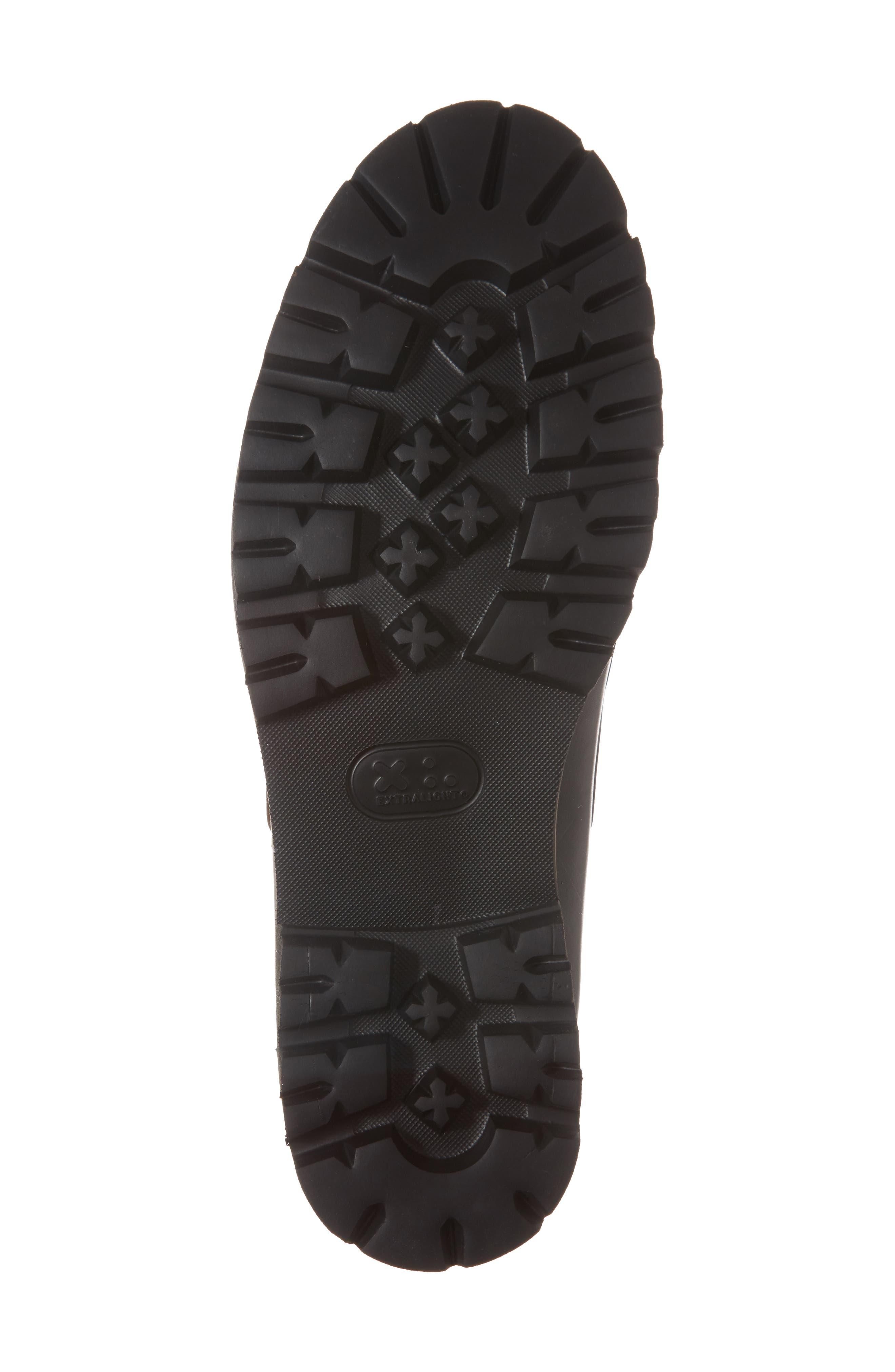 Camplight Water Resistant Boat Shoe,                             Alternate thumbnail 6, color,                             Saddlebag Black Leather