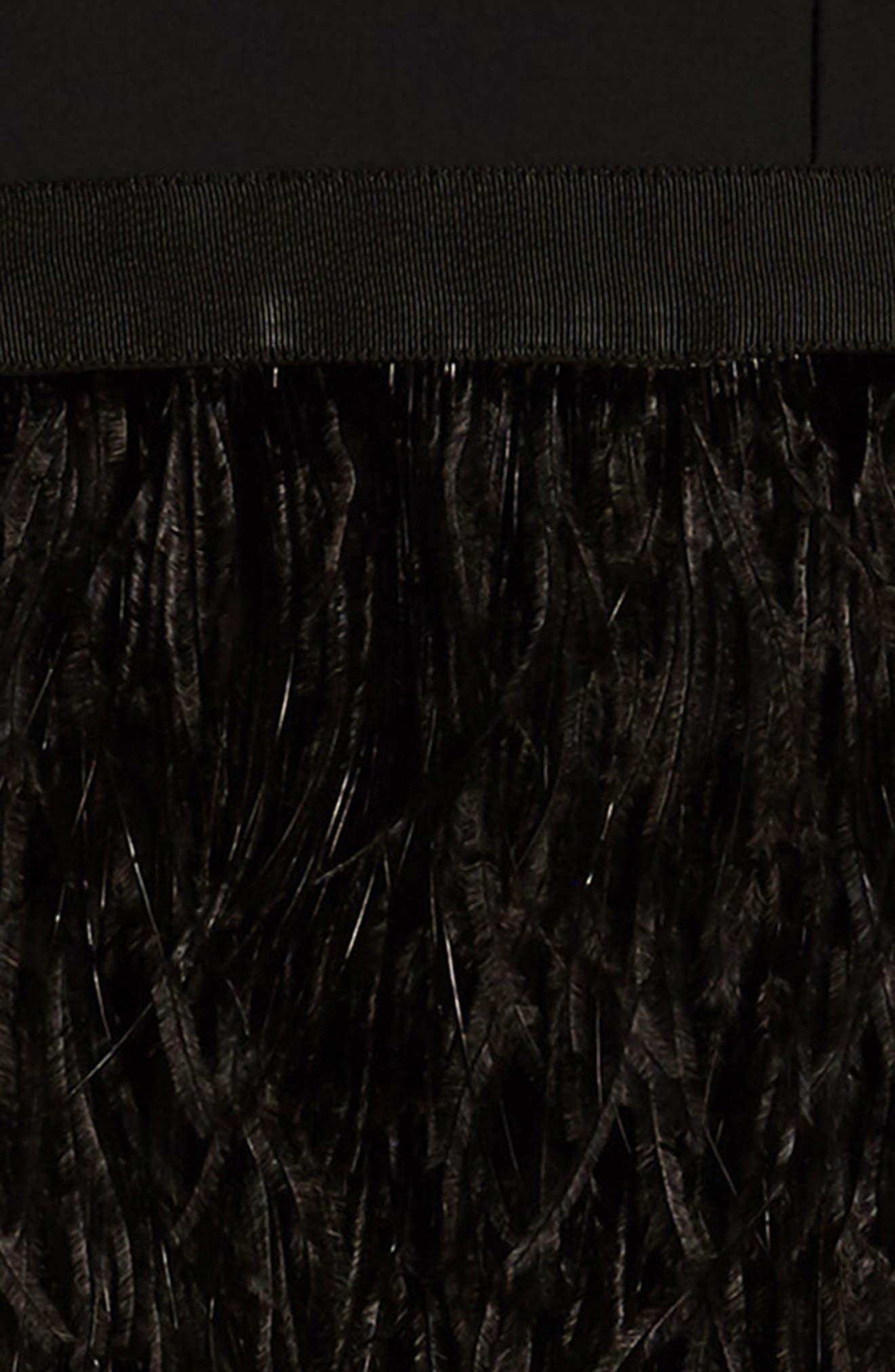 Megan Off the Shoulder Dress,                             Alternate thumbnail 3, color,                             Black
