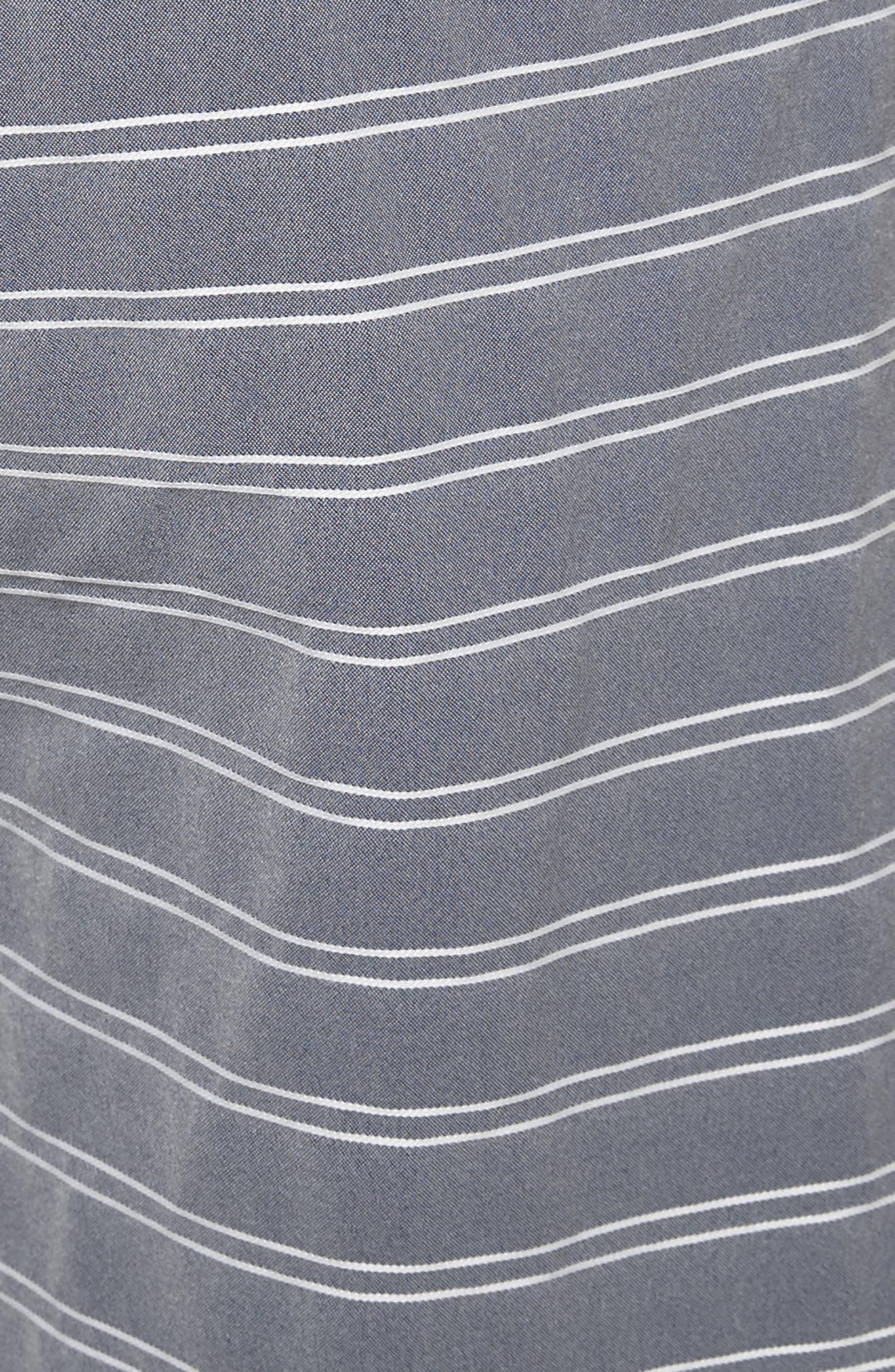 Alternate Image 5  - ONIA Calder Stripe Board Shorts