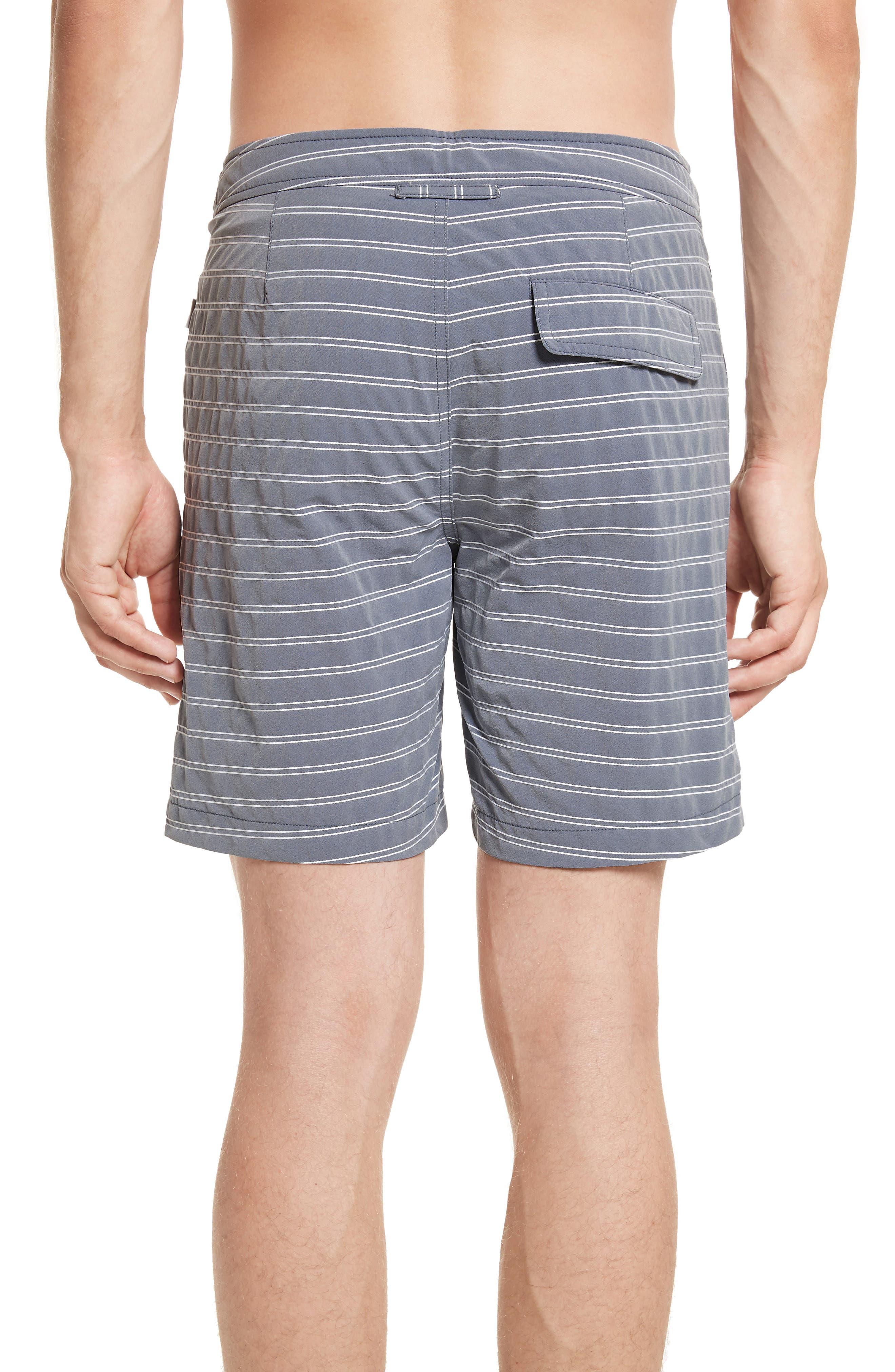 Alternate Image 2  - ONIA Calder Stripe Board Shorts