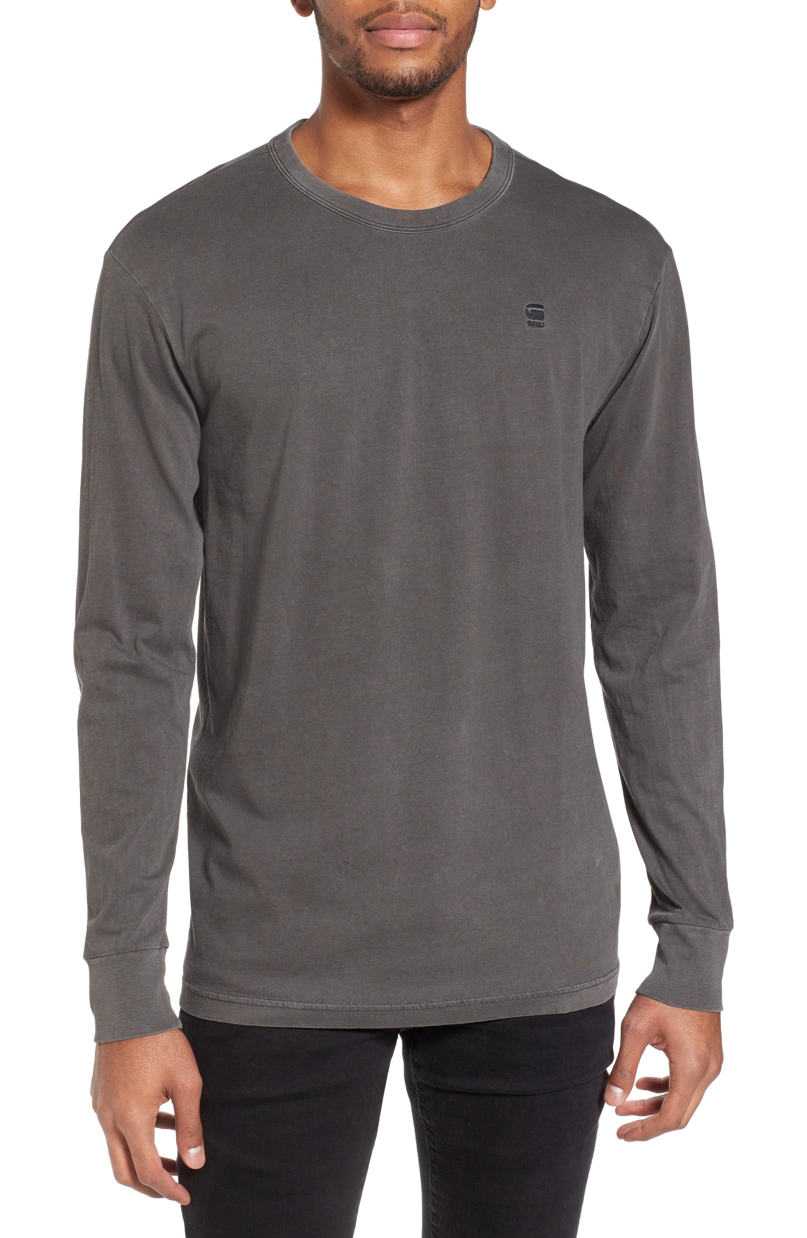 RC Bonded T-Shirt,                         Main,                         color, Dark Black