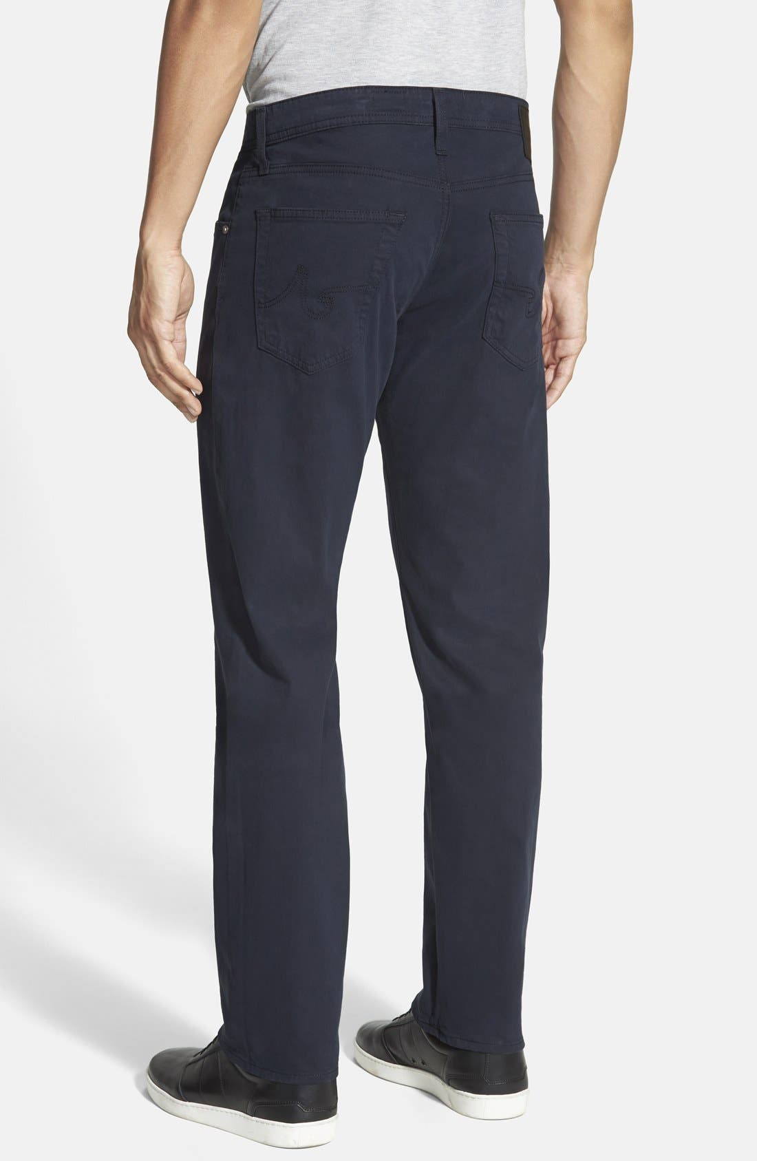 Alternate Image 2  - AG 'Protégé SUD' Straight Leg Pants