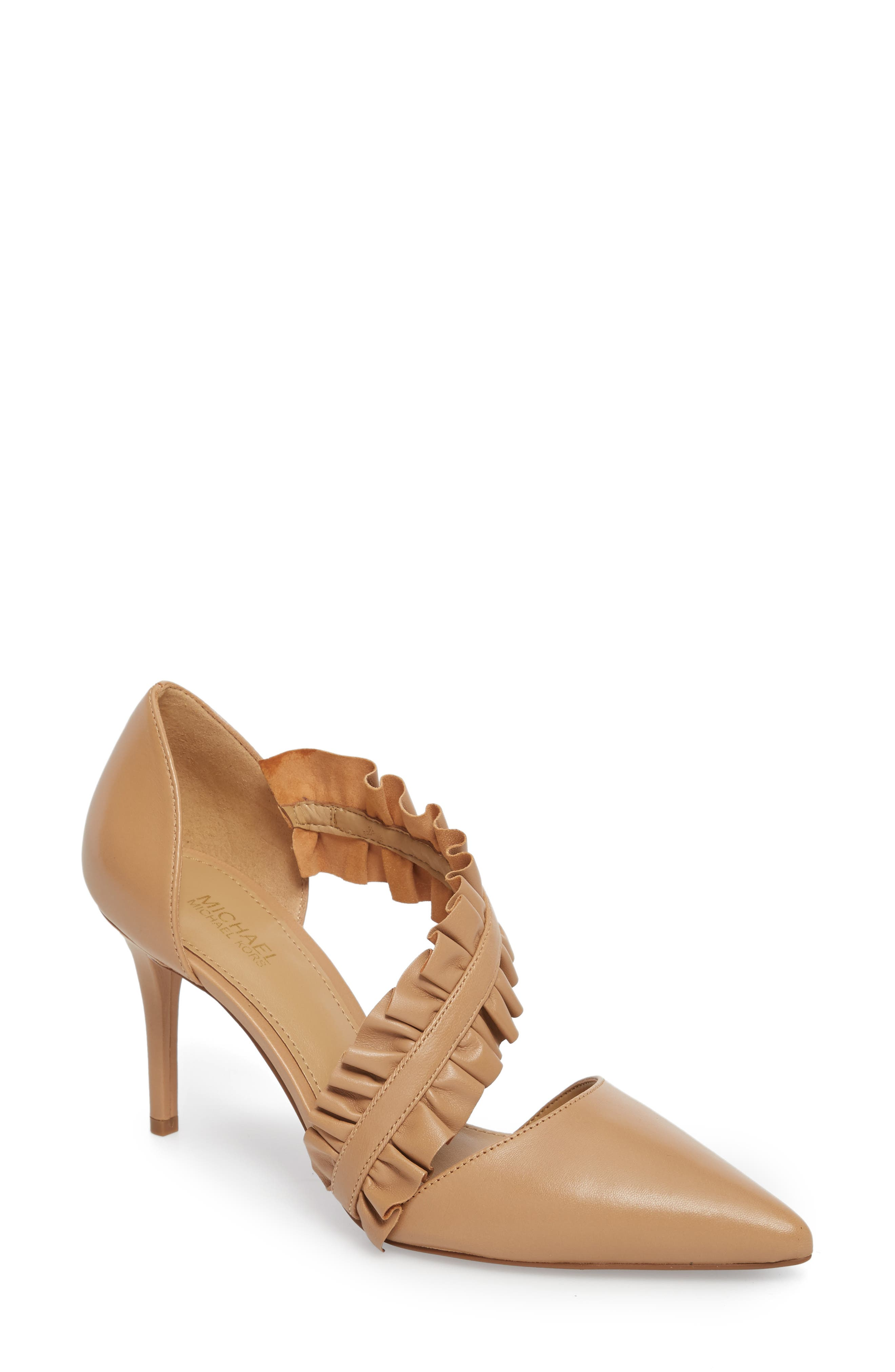 Alternate Image 1 Selected - MICHAEL Michael Kors Bella Ruffle Pump (Women)