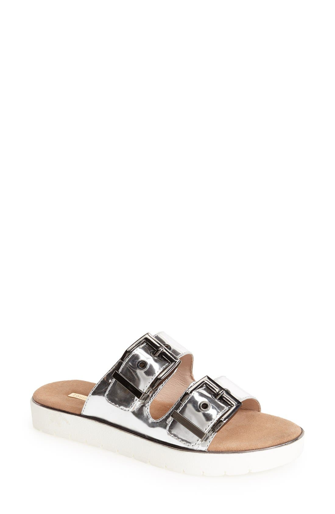 Alternate Image 1 Selected - Louise et Cie 'Lairde' Slip-On Leather Sandal (Women)
