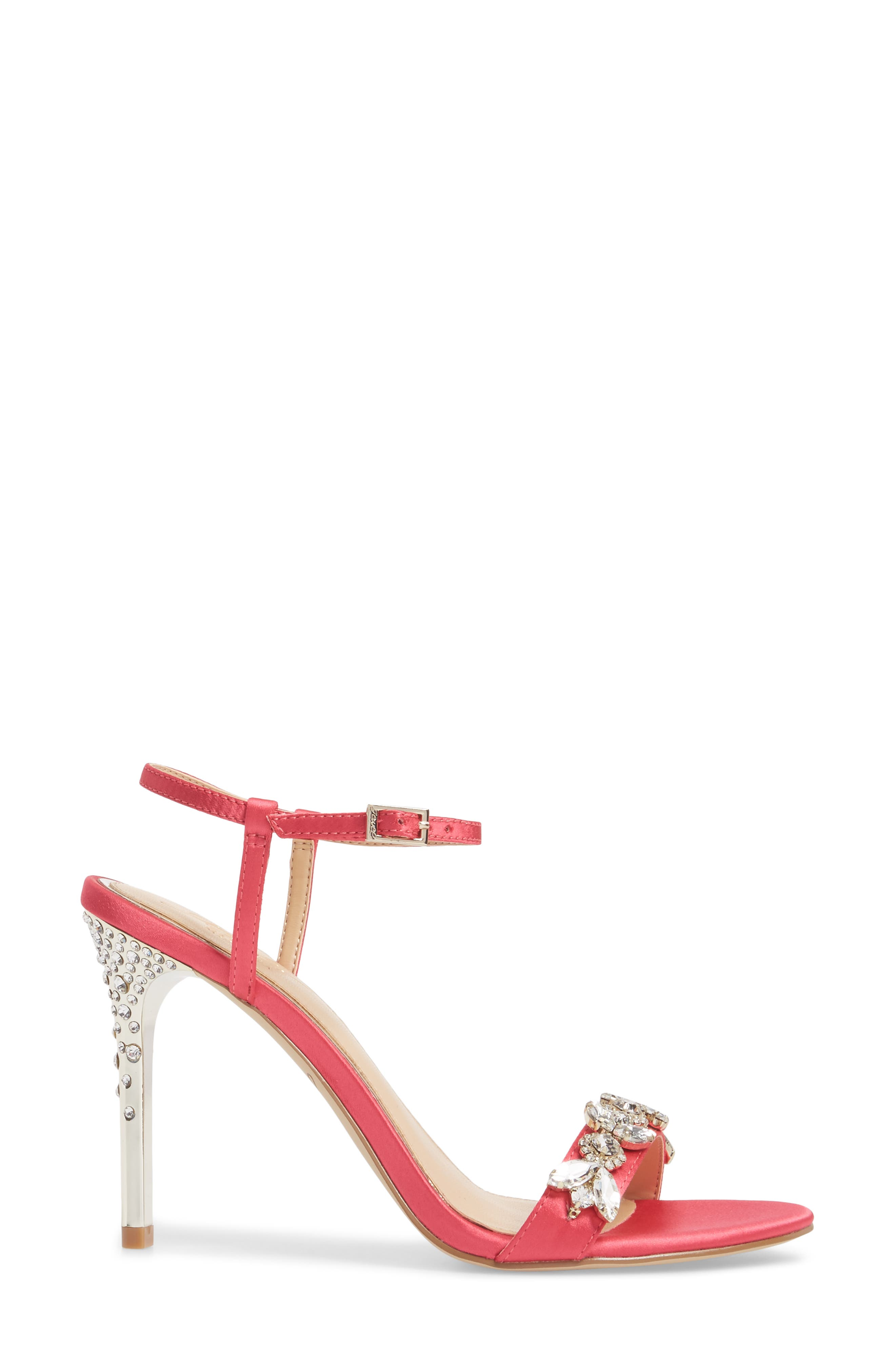 Alternate Image 3  - Jewel Badgley Mischka Tex Ankle Strap Sandal (Women)
