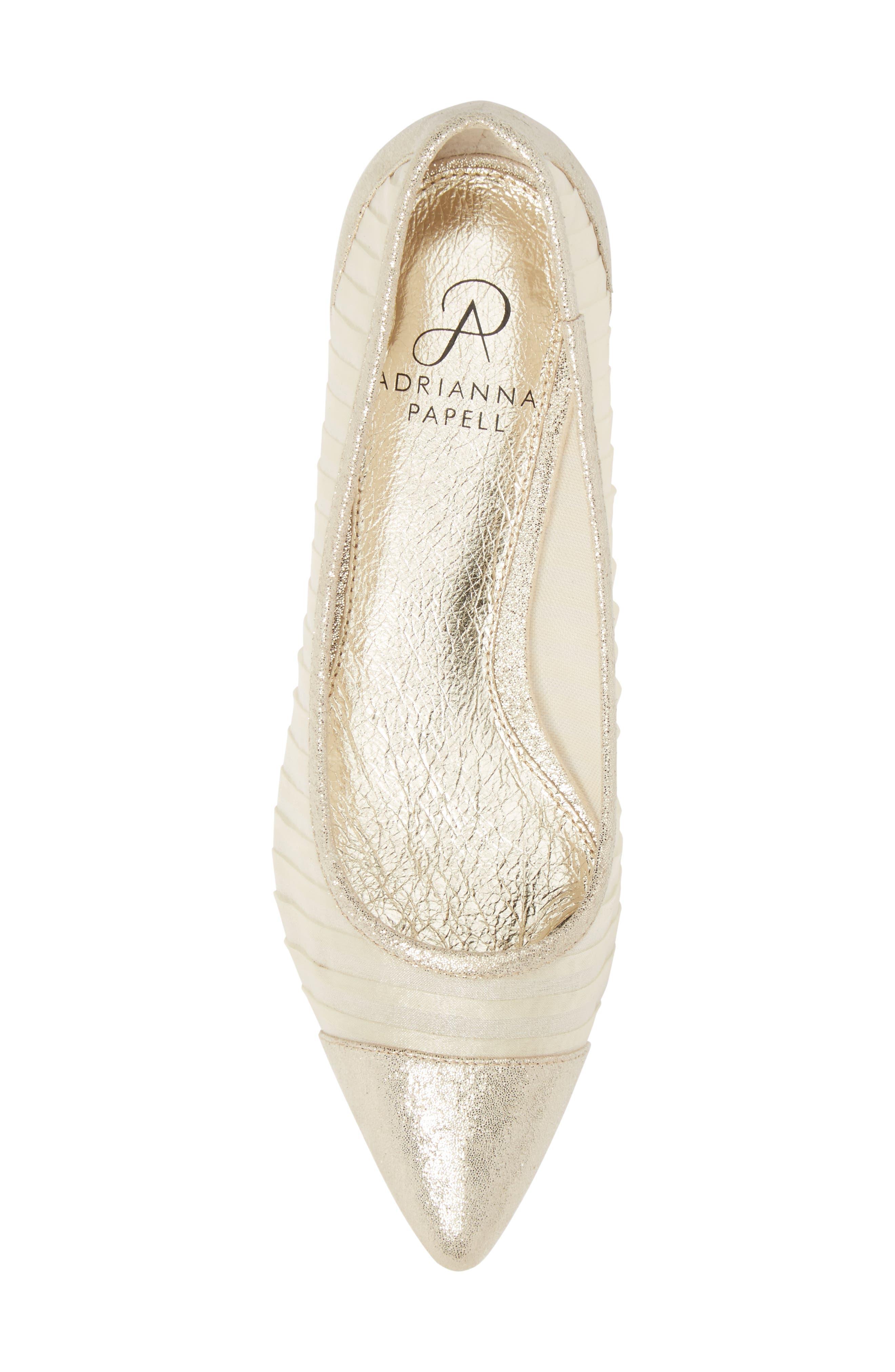 Alternate Image 5  - Adrianna Papell Tiffany Pointy Toe Flat (Women)