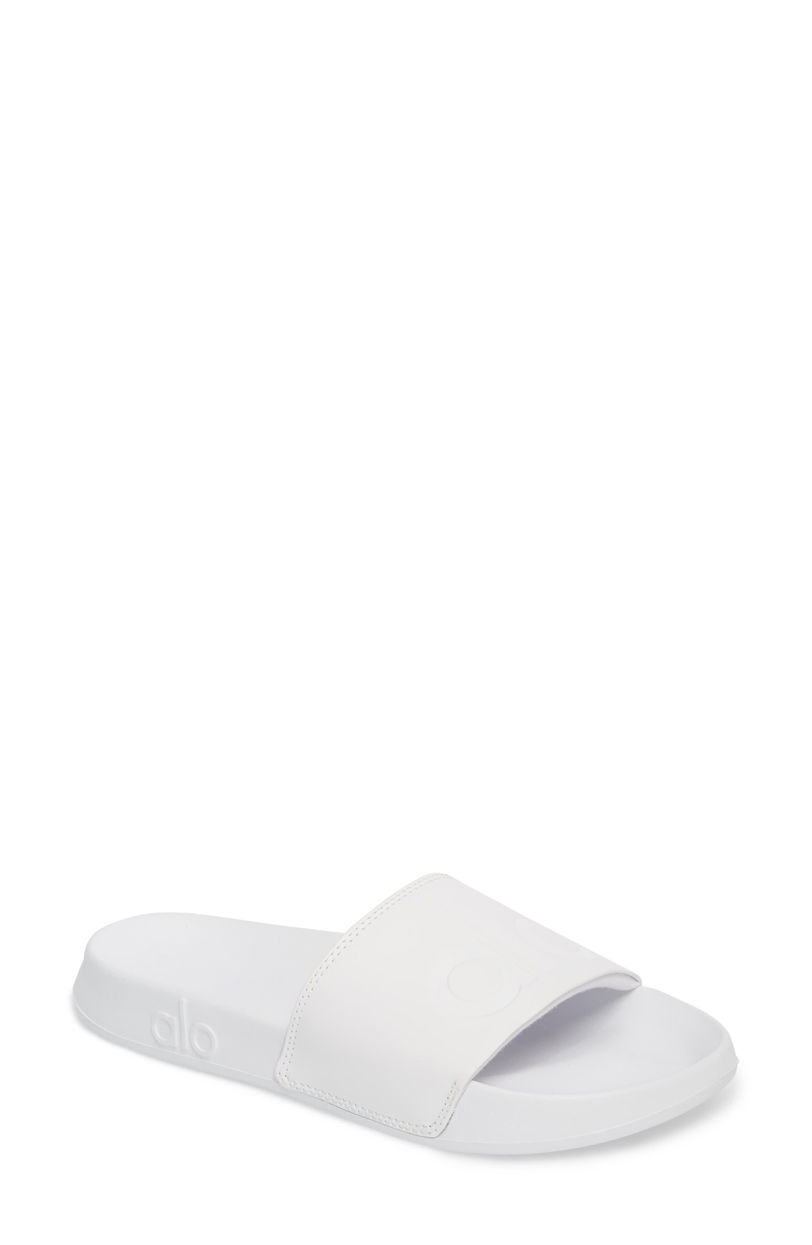 It 2 Sandal,                             Main thumbnail 1, color,                             White/ White