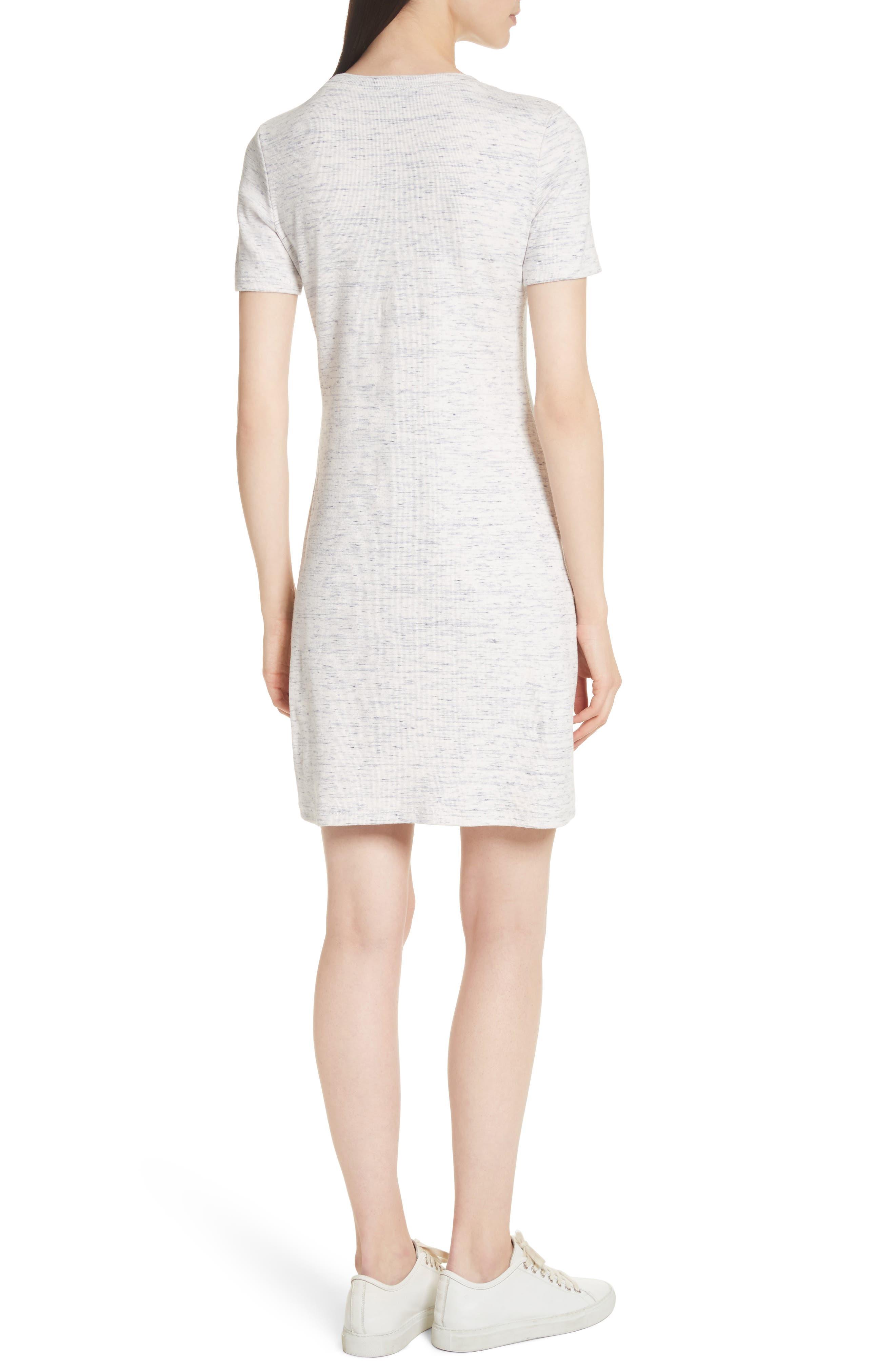 Cherry B3. T-Shirt Dress,                             Alternate thumbnail 2, color,                             Light Denim Melange