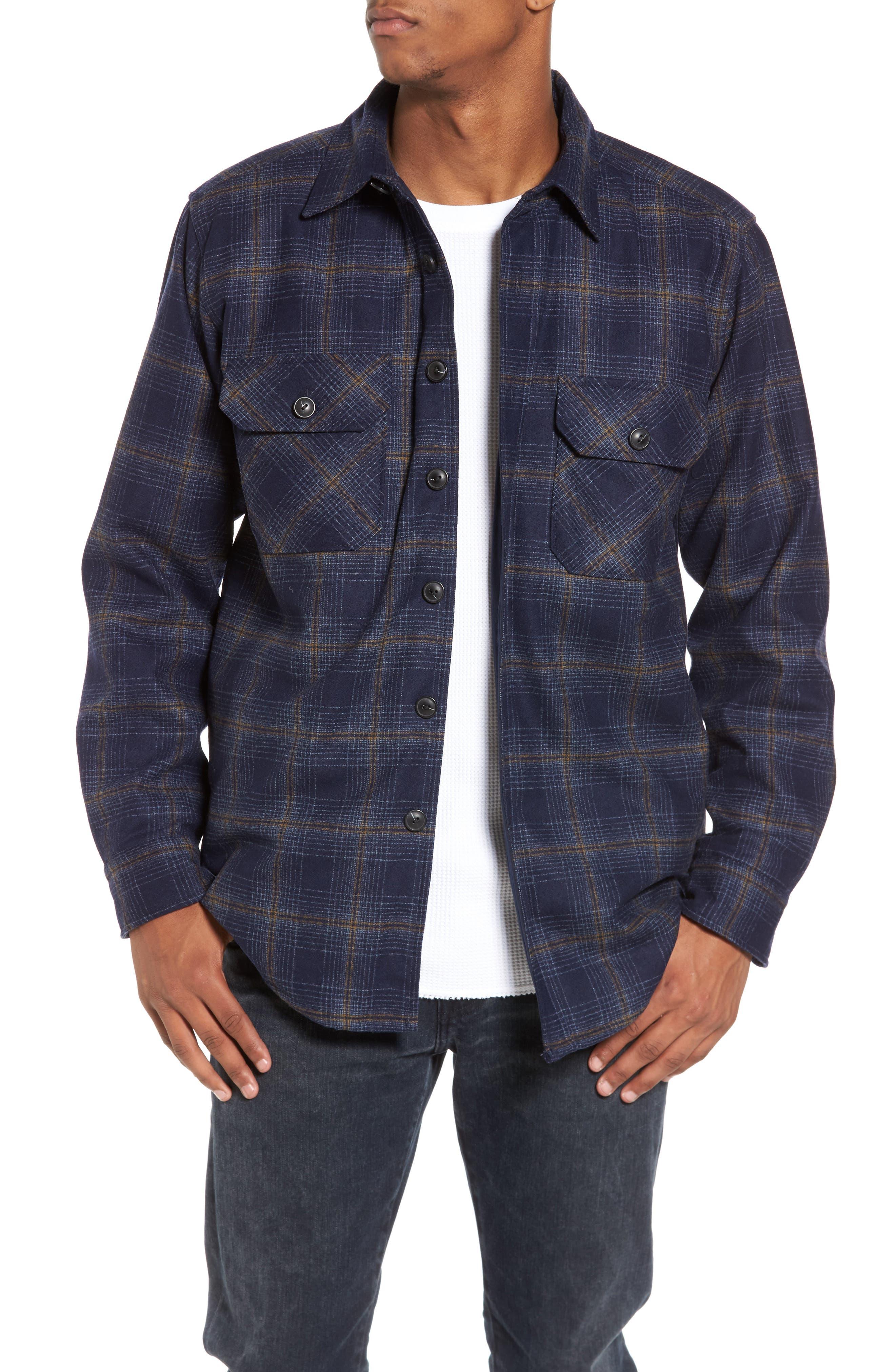 Main Image - Pendleton Quilted Wool Shirt Jacket