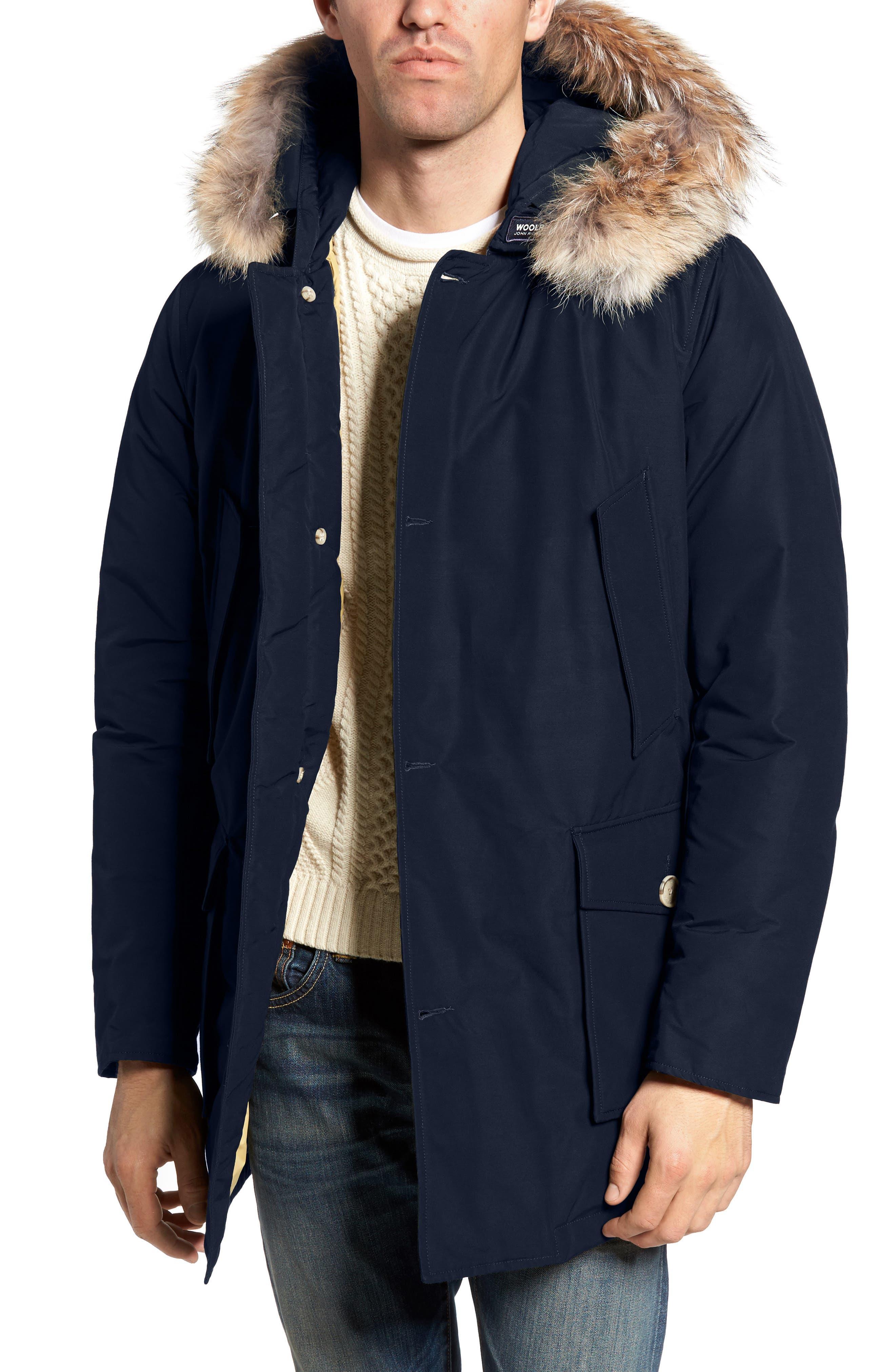 Woolrich John Rich & Bros. Arctic Parka with Genuine Coyote Fur Trim
