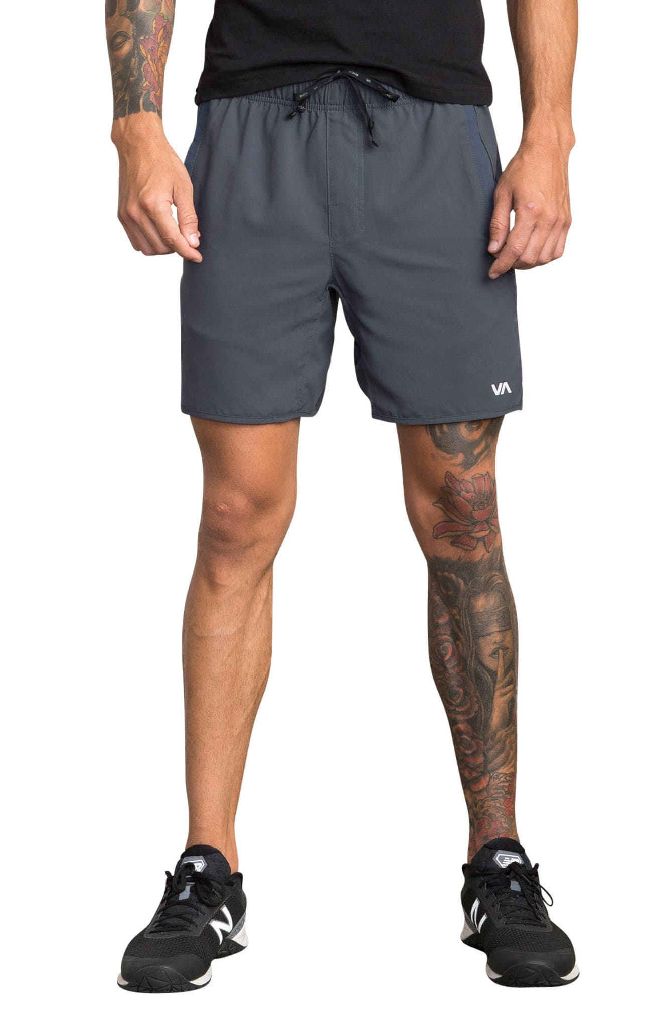 Alternate Image 1 Selected - RVCA Yogger III Athletic Shorts