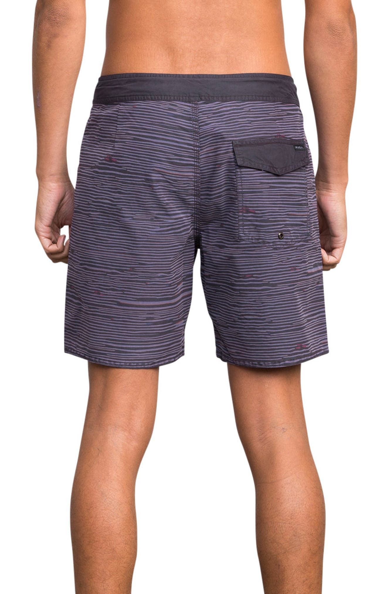 Flinch Board Shorts,                             Alternate thumbnail 2, color,                             Dark Purple