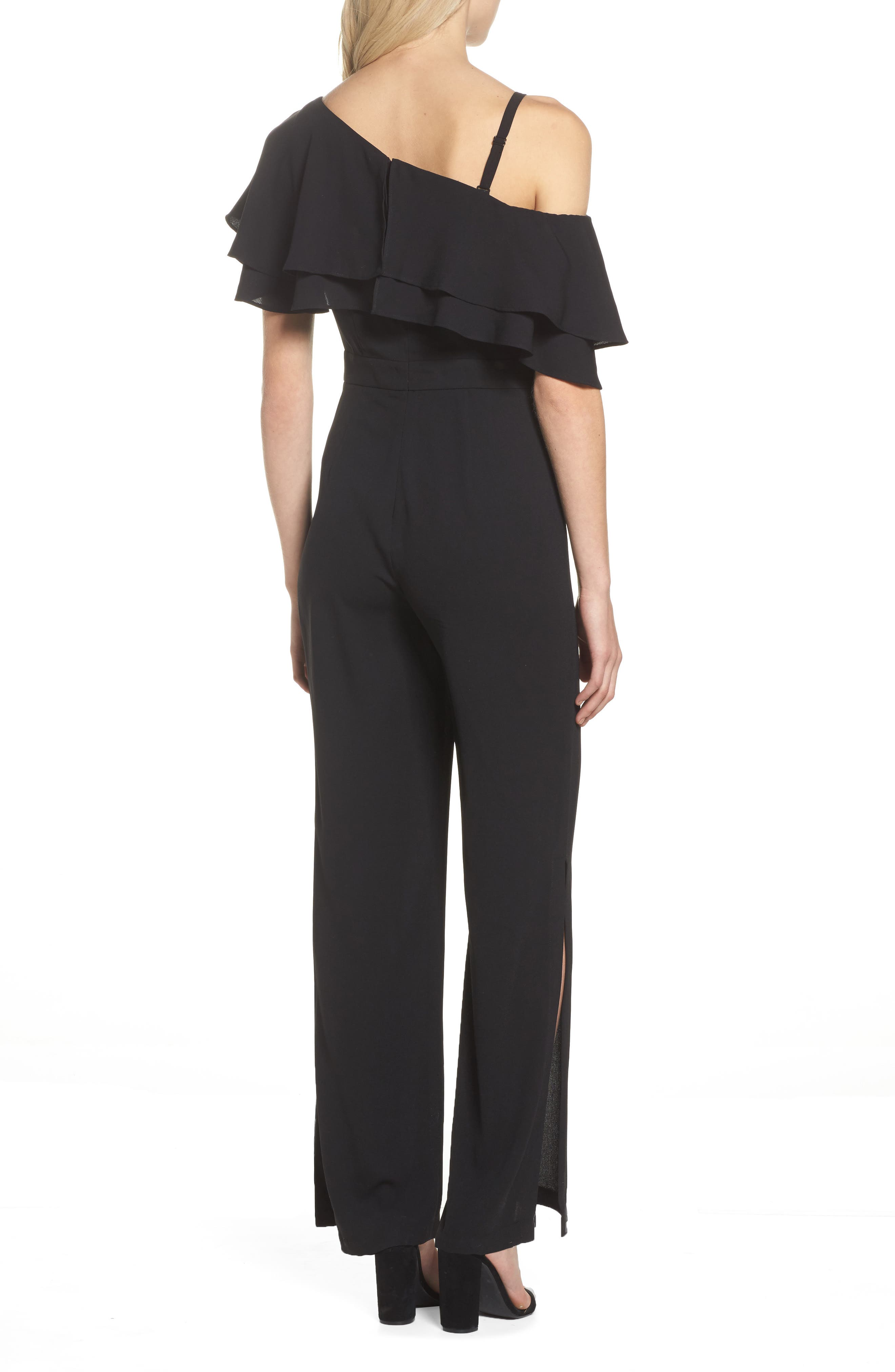 Alternate Image 2  - Vince Camuto Moss One-Shoulder Jumpsuit