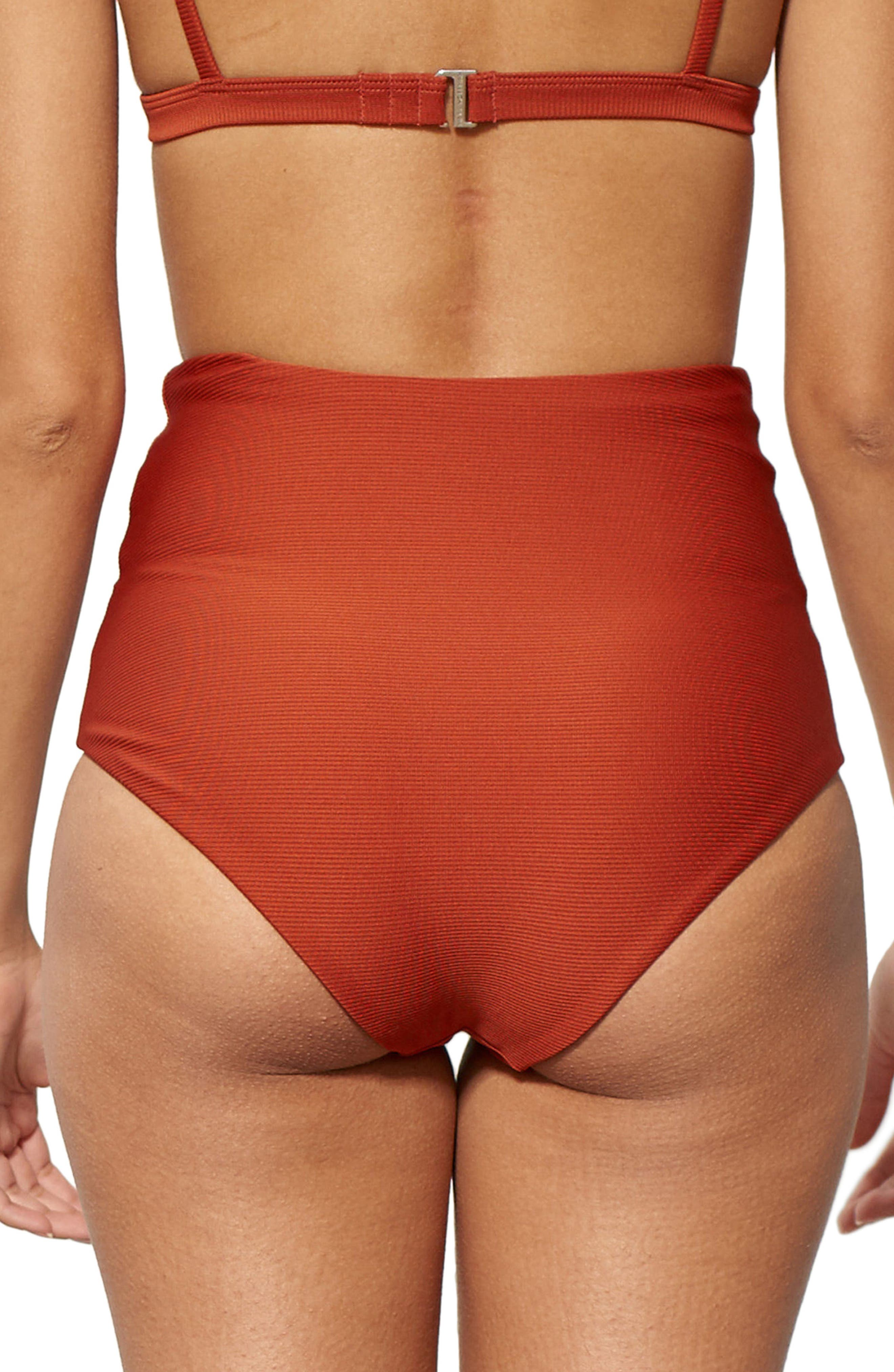Alternate Image 2  - Mara Hoffman Lydia High Waist Bikini Bottoms