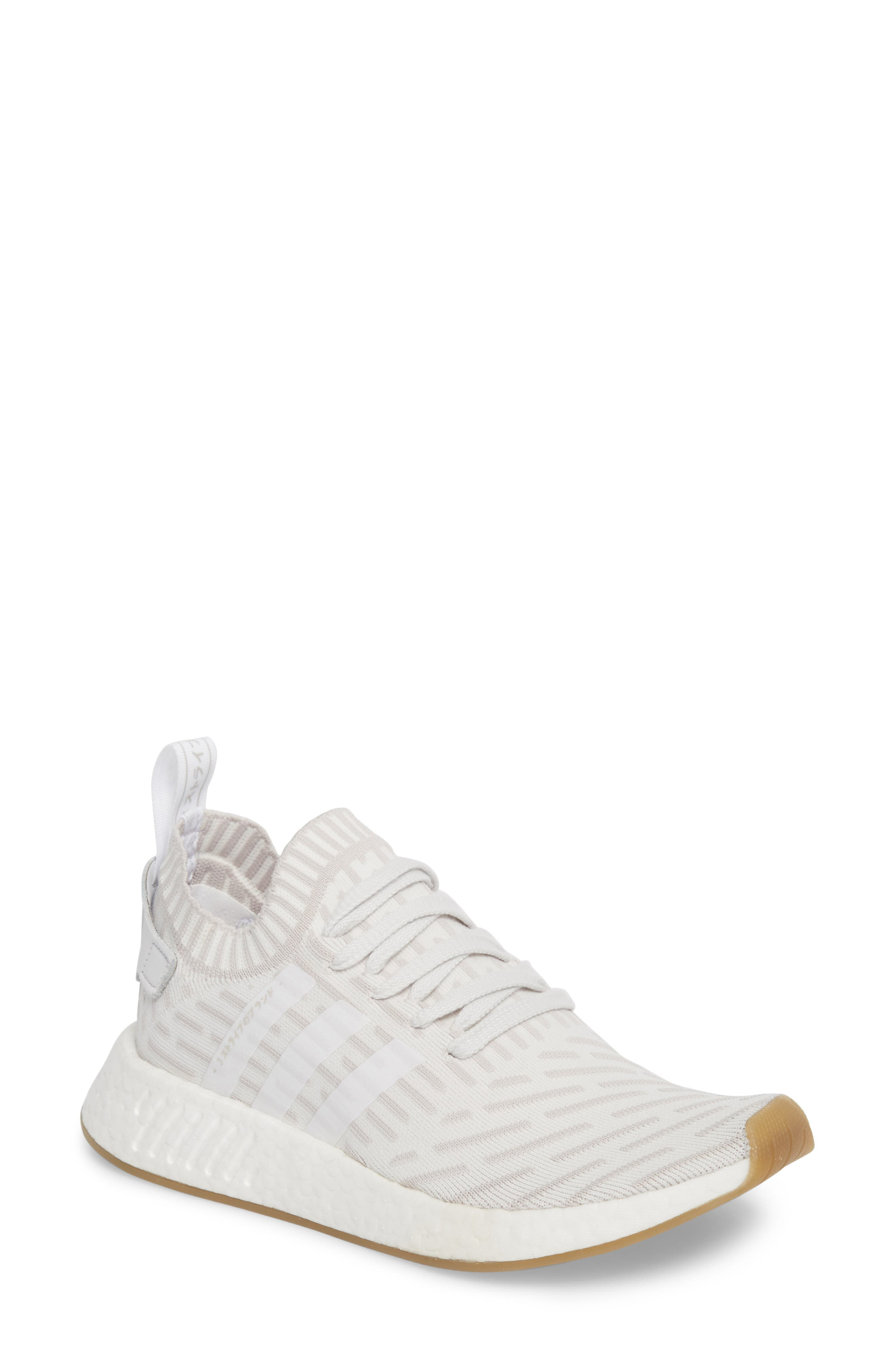 adidas NMD R2 Primeknit Athletic Shoe (Women)
