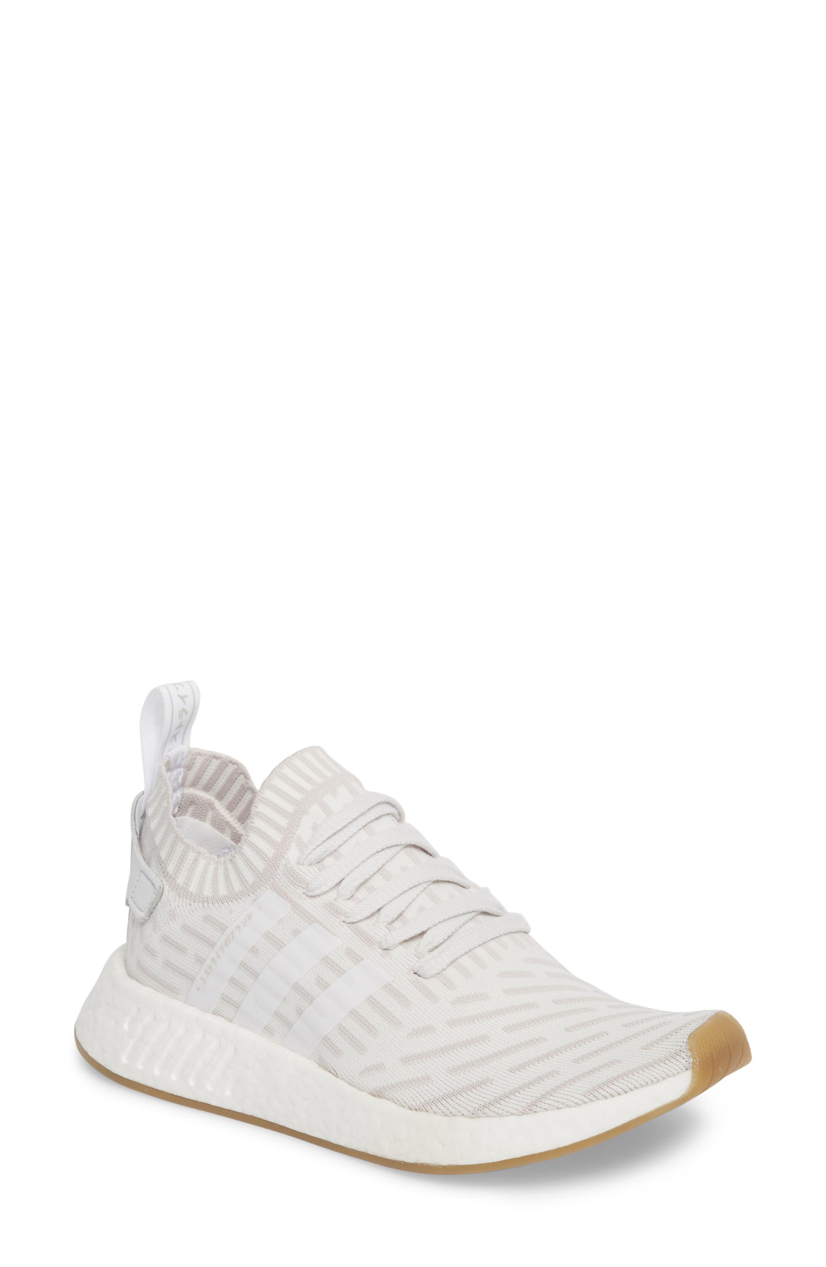 adidas NMD R2 Primeknit Athletic Shoe (Women)