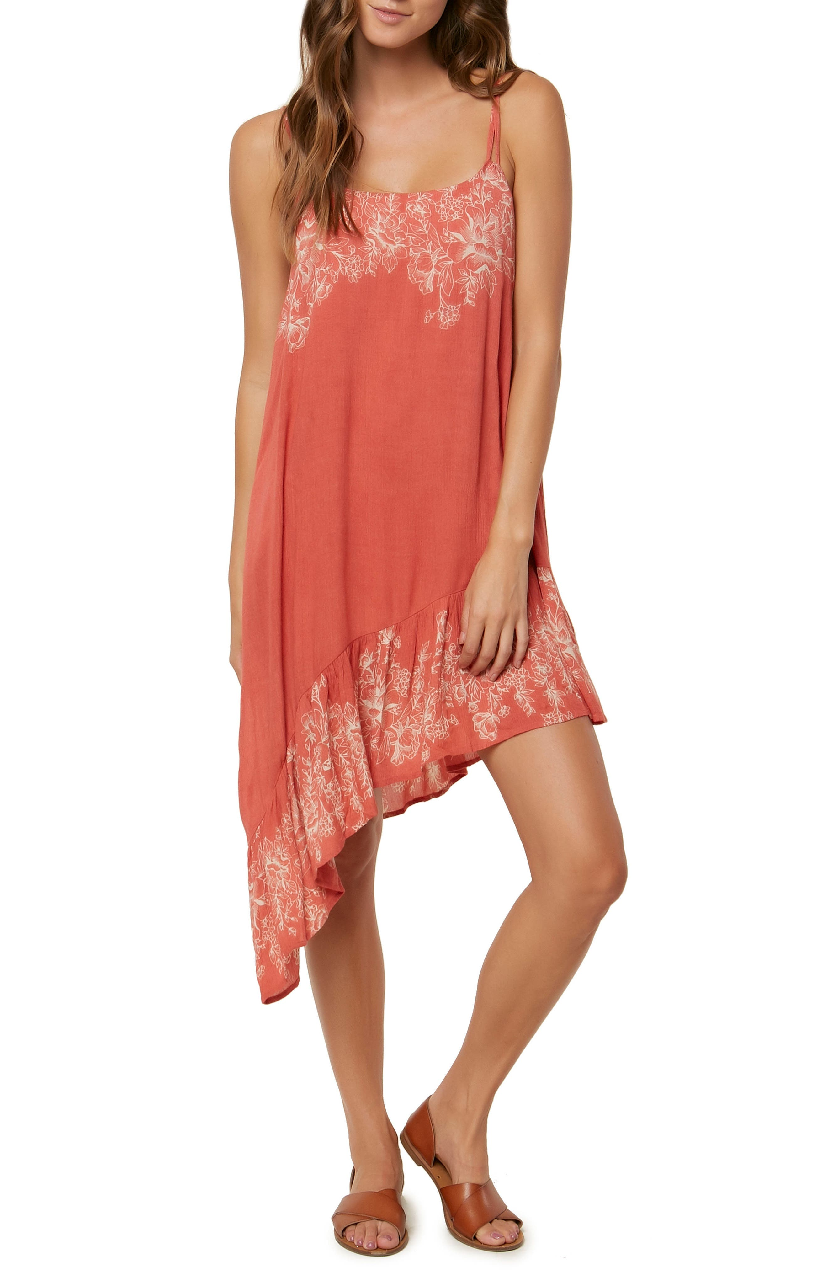 Rosella Asymmetrical Dress,                         Main,                         color, Faded Rose
