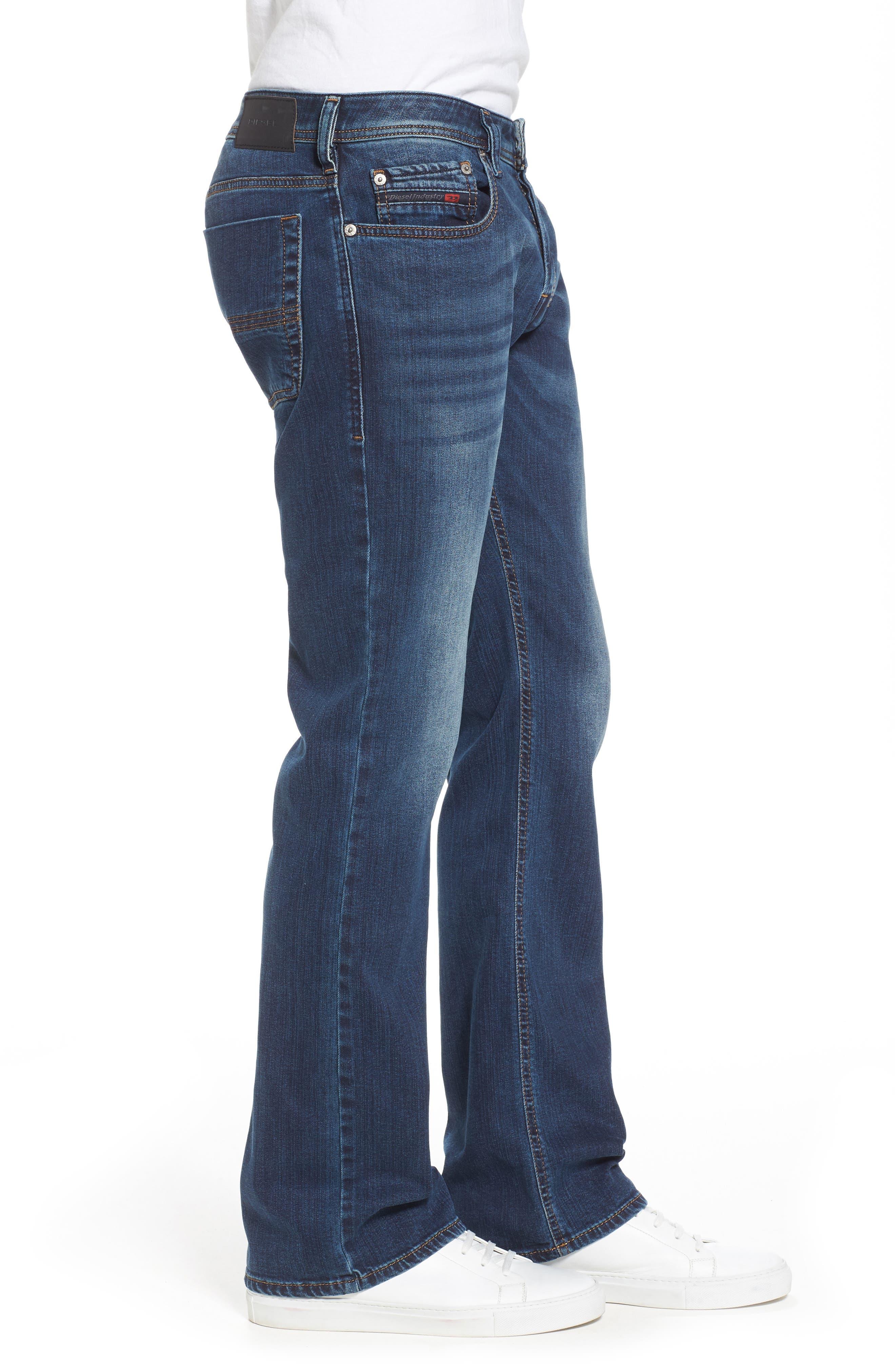 Alternate Image 3  - DIESEL® Zatiny Bootcut Jeans (084BU)