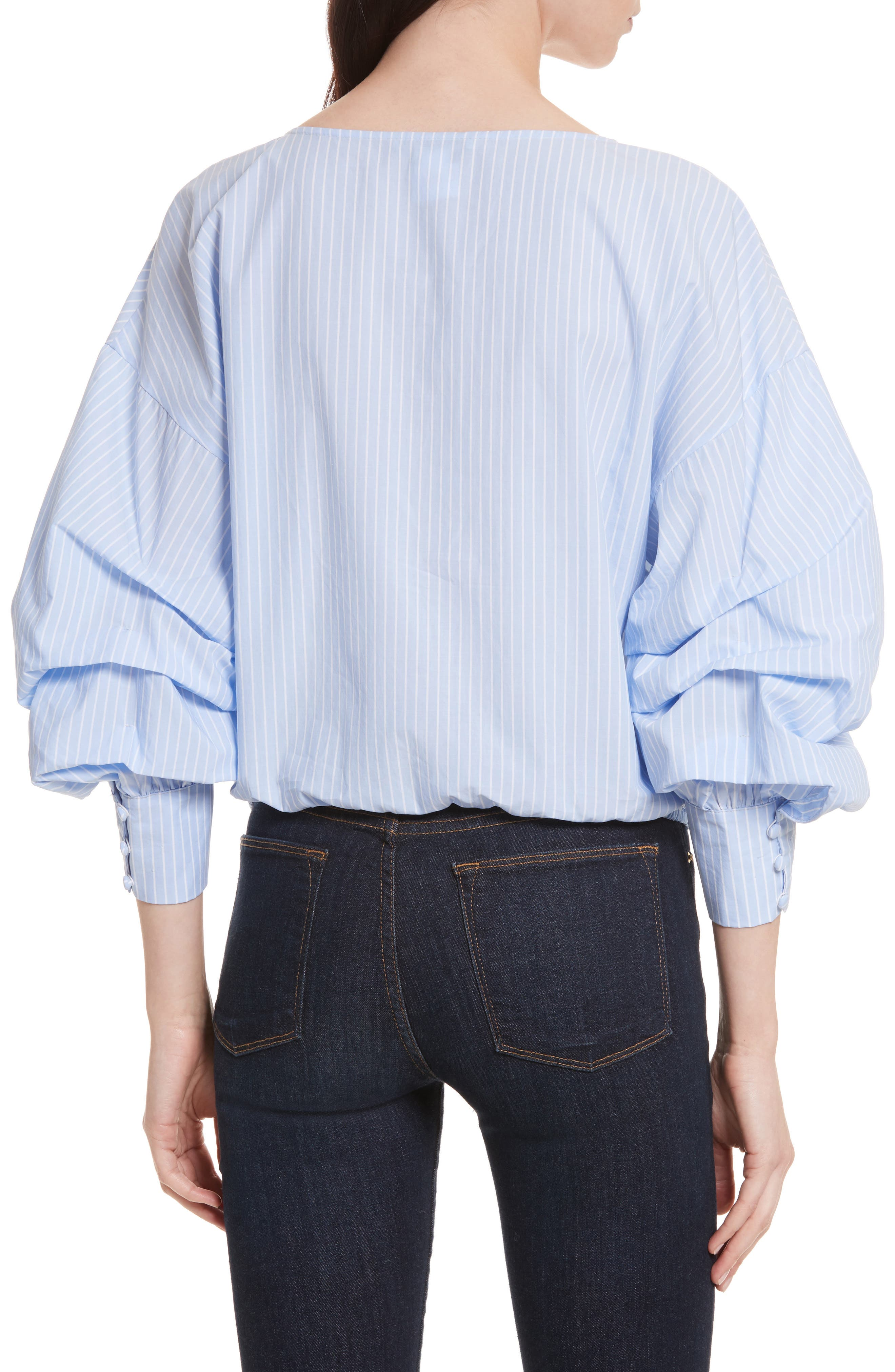 Alternate Image 2  - Alice + Olivia Braelyn Faux Wrap Top