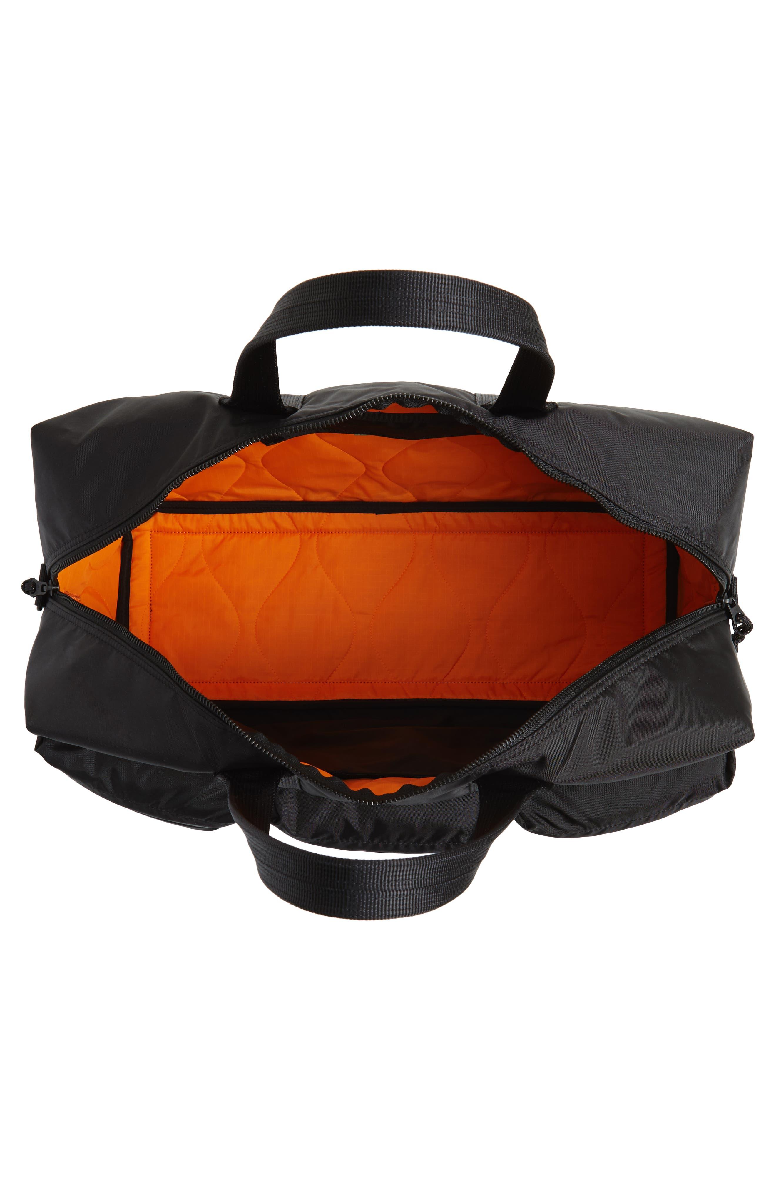Porter-Yoshida & Co. Force Duffel Bag,                             Alternate thumbnail 4, color,                             Black
