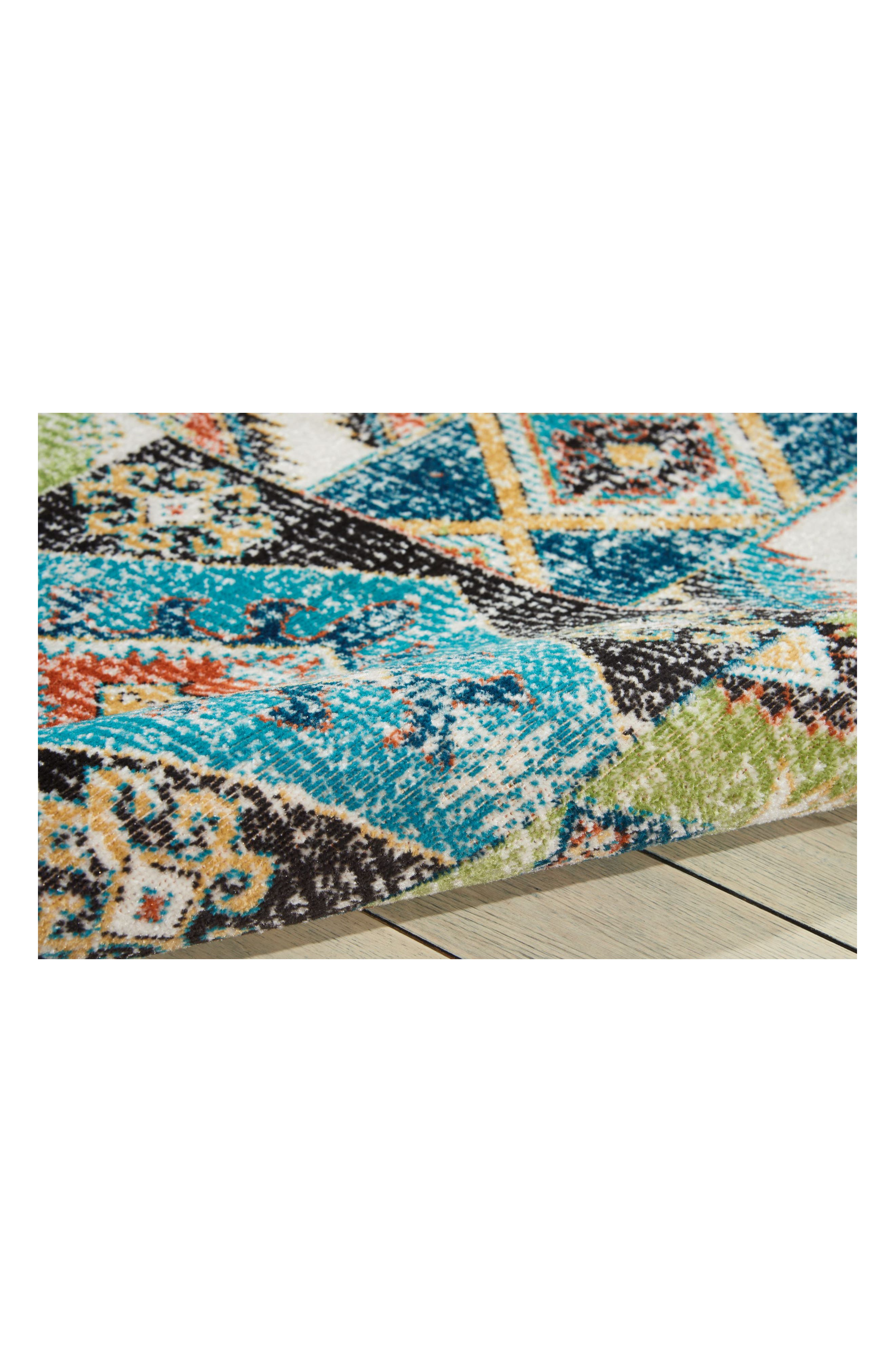 Aria Rug,                             Alternate thumbnail 7, color,                             Indigo
